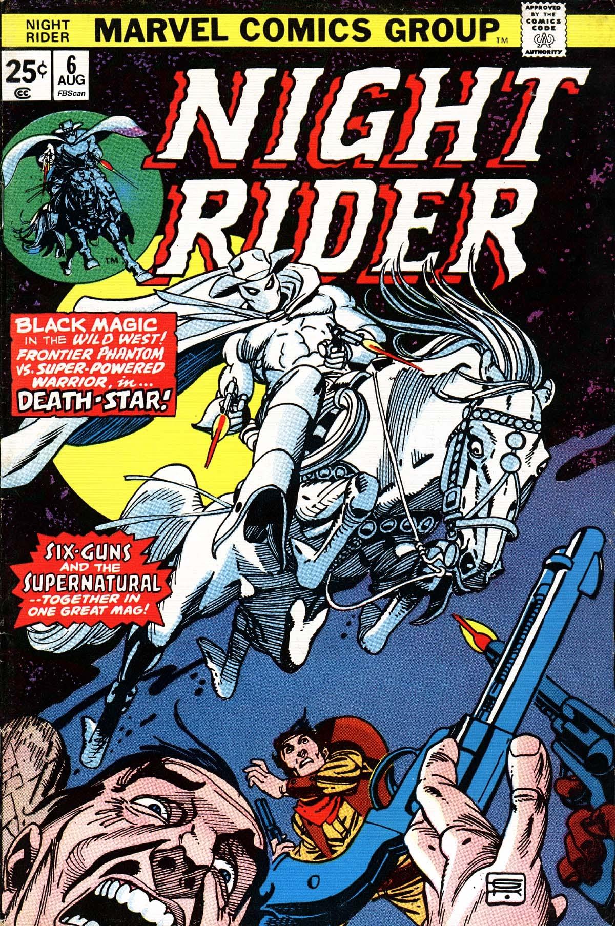 Night Rider 6 Page 1