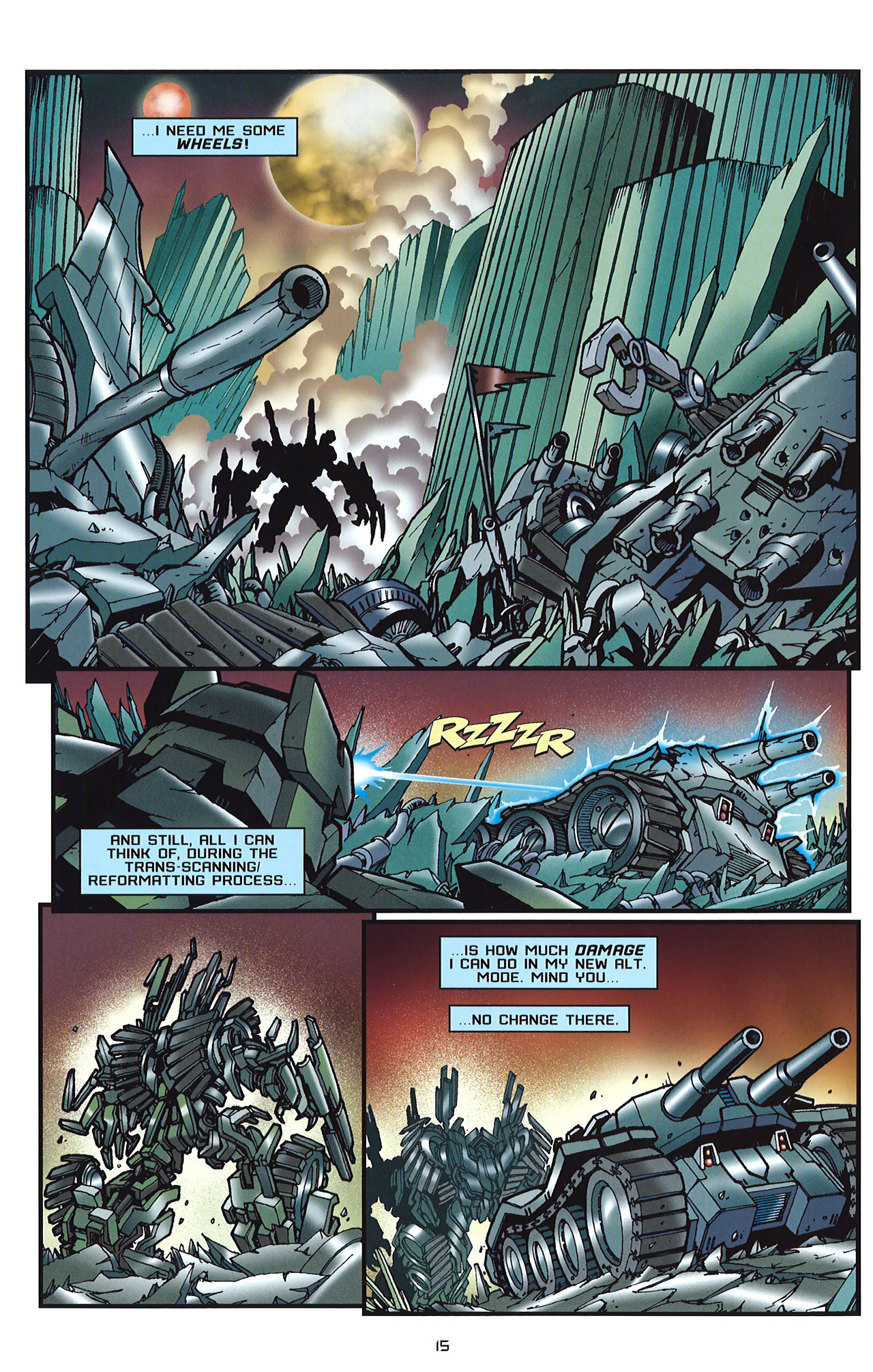 Read online Transformers: Saga of the Allspark comic -  Issue #2 - 18