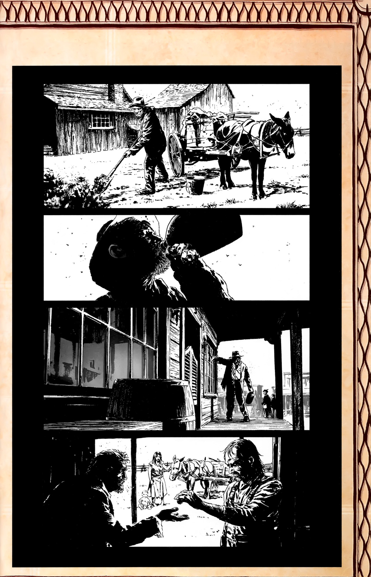 Read online Dark Tower: The Gunslinger - The Battle of Tull comic -  Issue #1 - 29