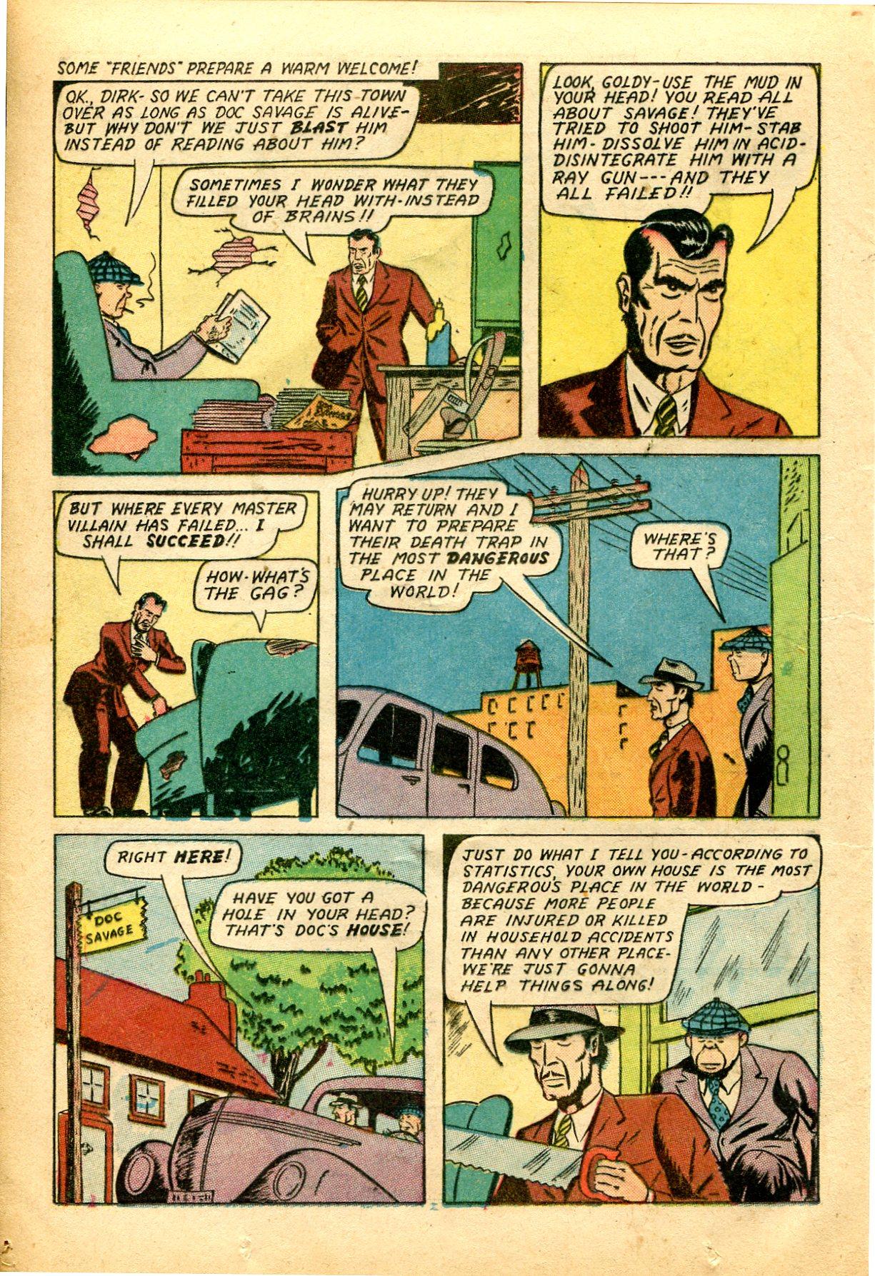Read online Shadow Comics comic -  Issue #51 - 19