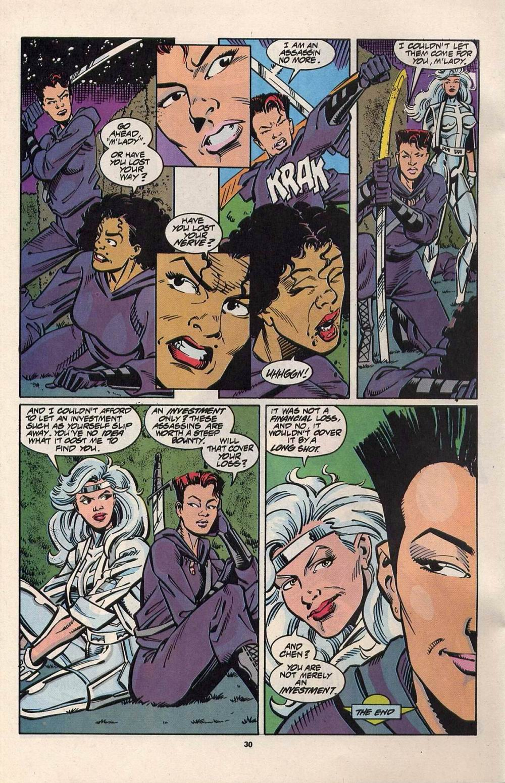Read online Silver Sable and the Wild Pack comic -  Issue #28 - 23