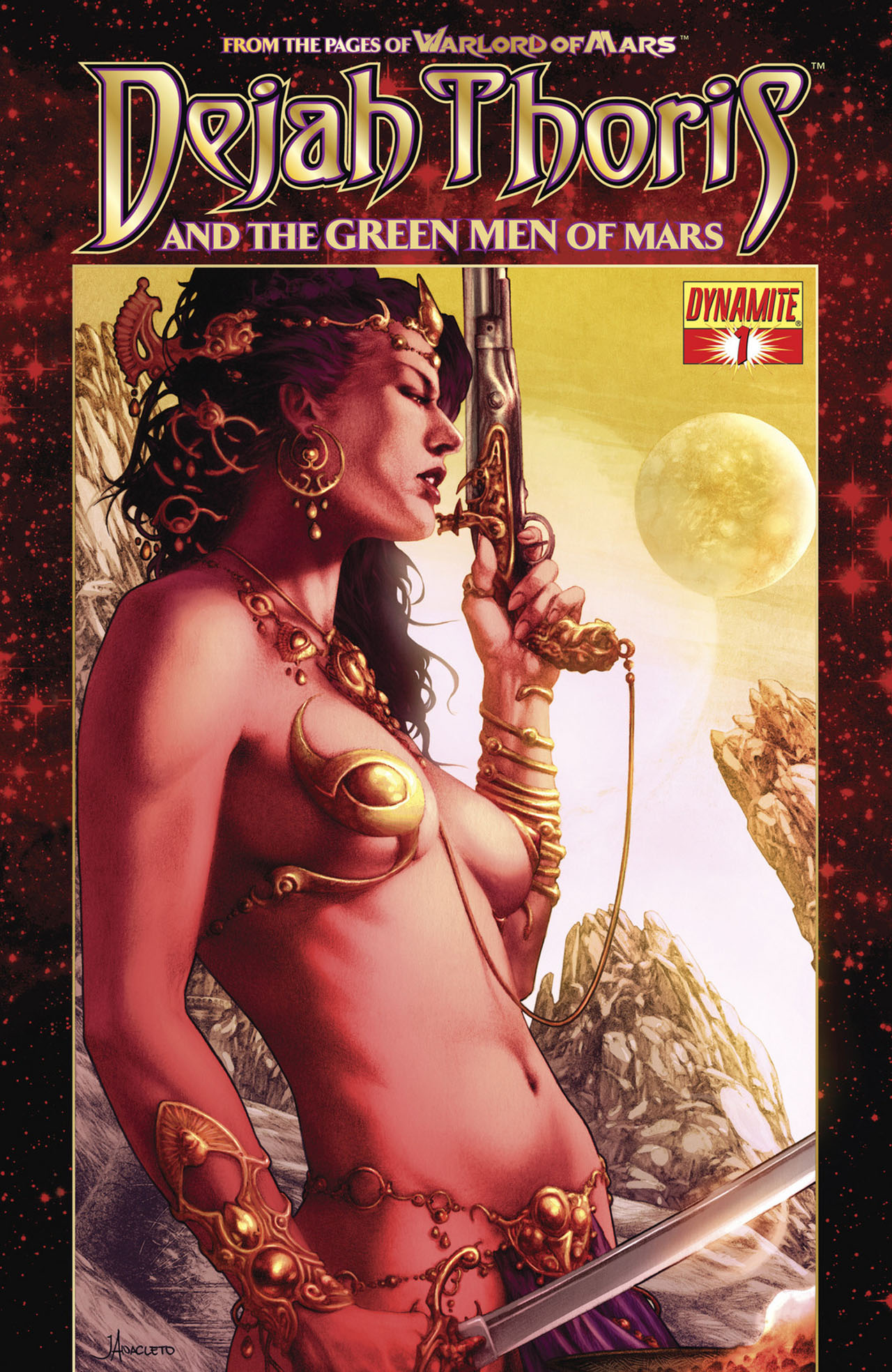 Dejah Thoris and the Green Men of Mars issue 1 - Page 1