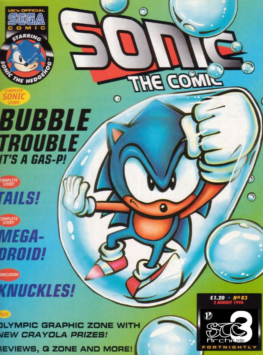 Read online Sonic the Comic comic -  Issue #83 - 1