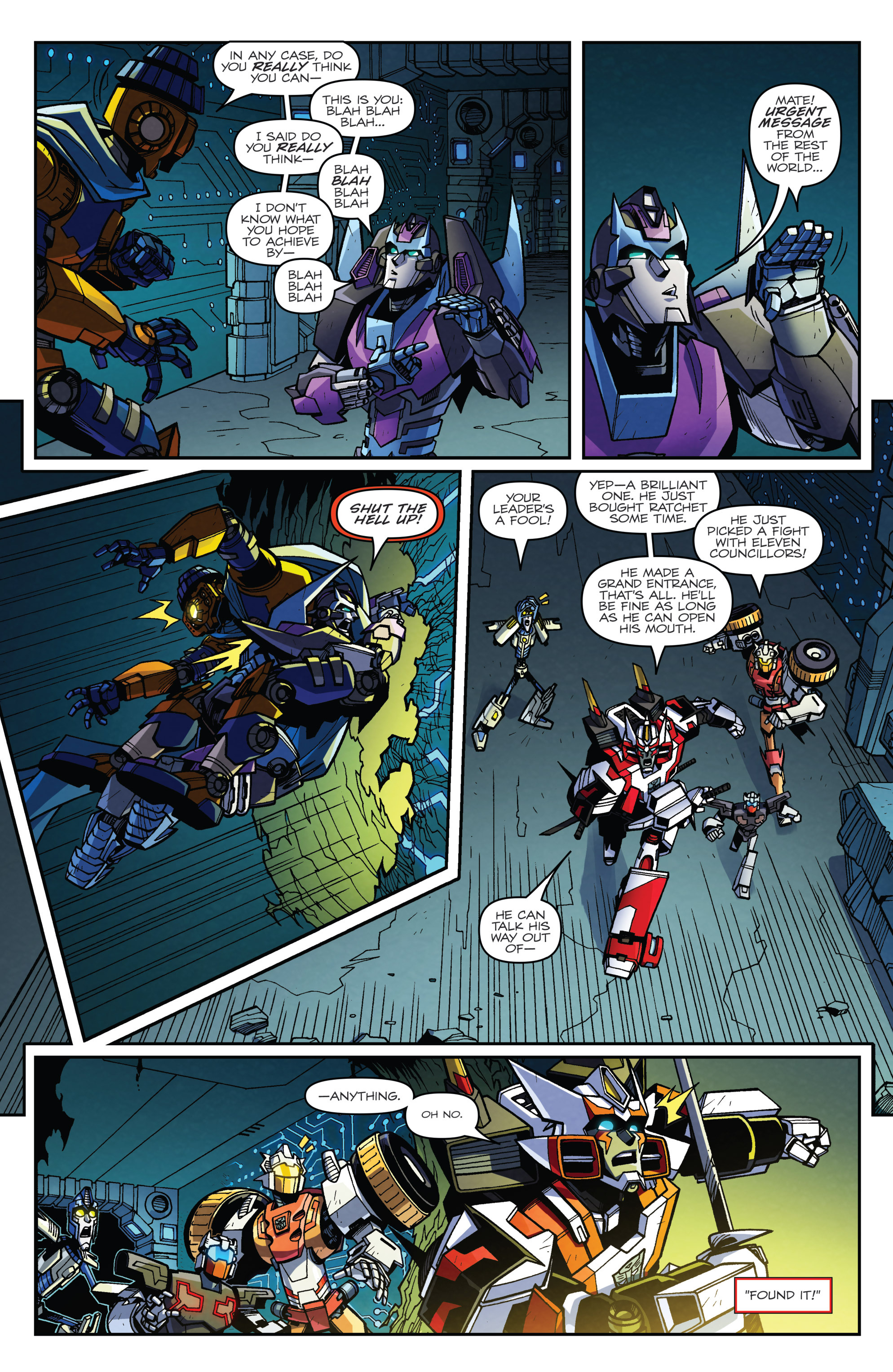 Read online Transformers: Lost Light comic -  Issue #4 - 20
