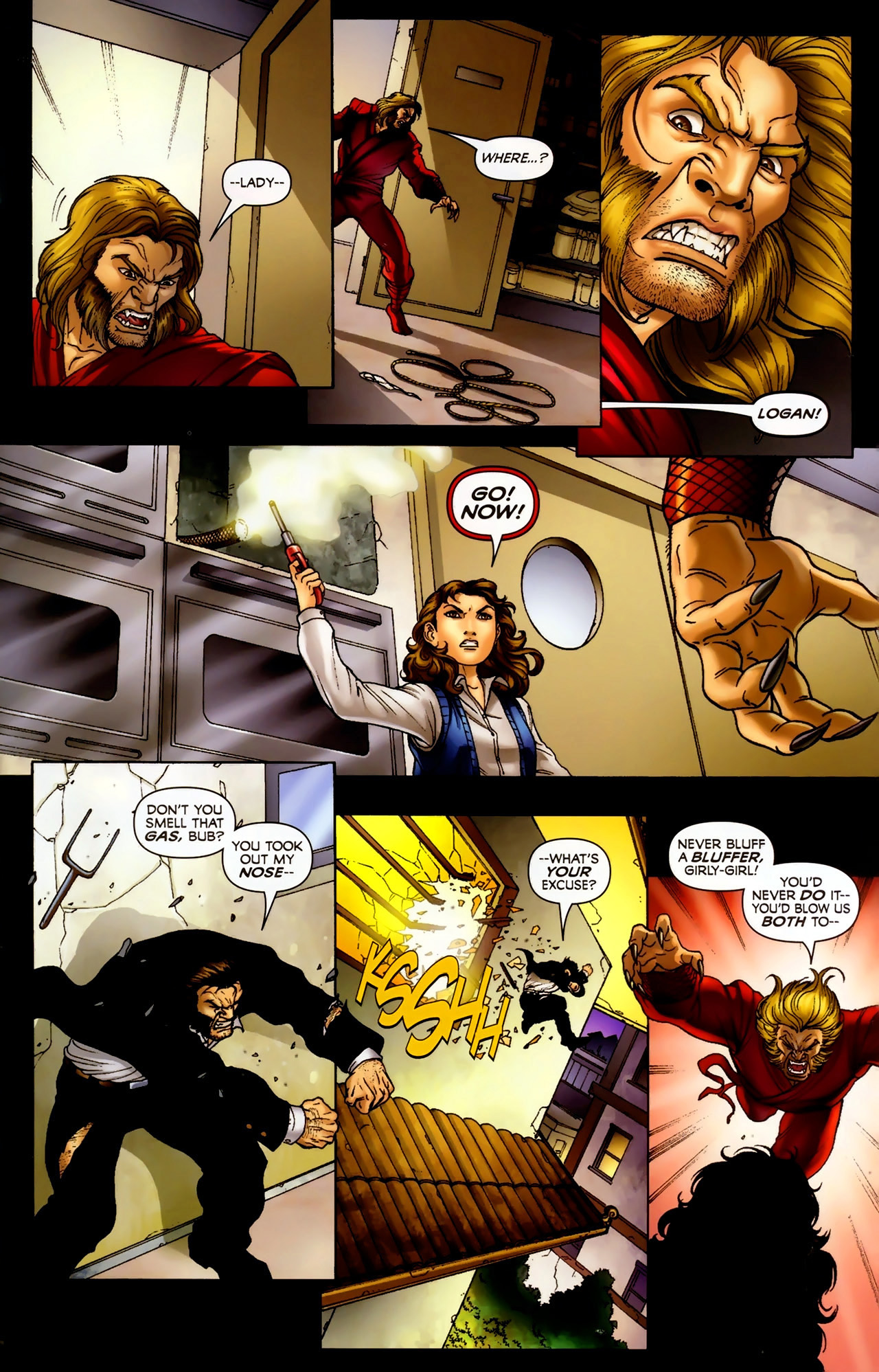 Read online Wolverine: First Class comic -  Issue #2 - 20
