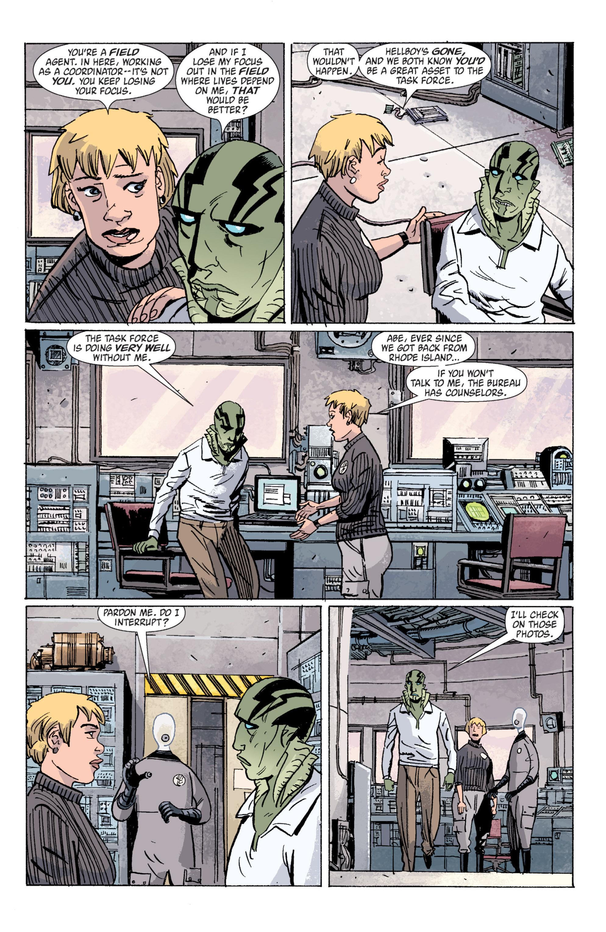 Read online B.P.R.D. (2003) comic -  Issue # TPB 5 - 38