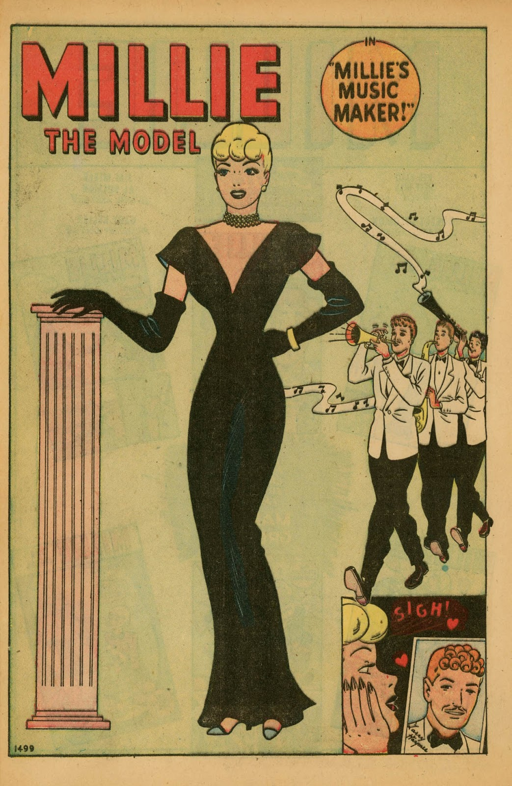 Read online Millie the Model comic -  Issue #7 - 4
