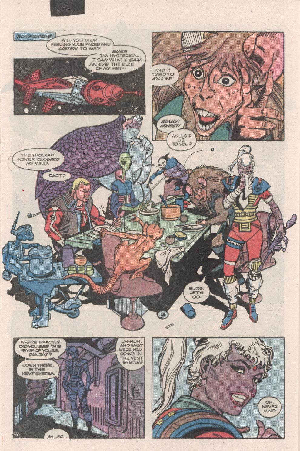 Read online Atari Force (1984) comic -  Issue #9 - 23