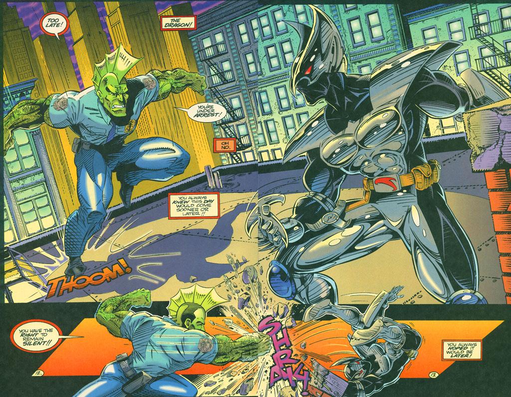 Read online ShadowHawk comic -  Issue #4 - 16