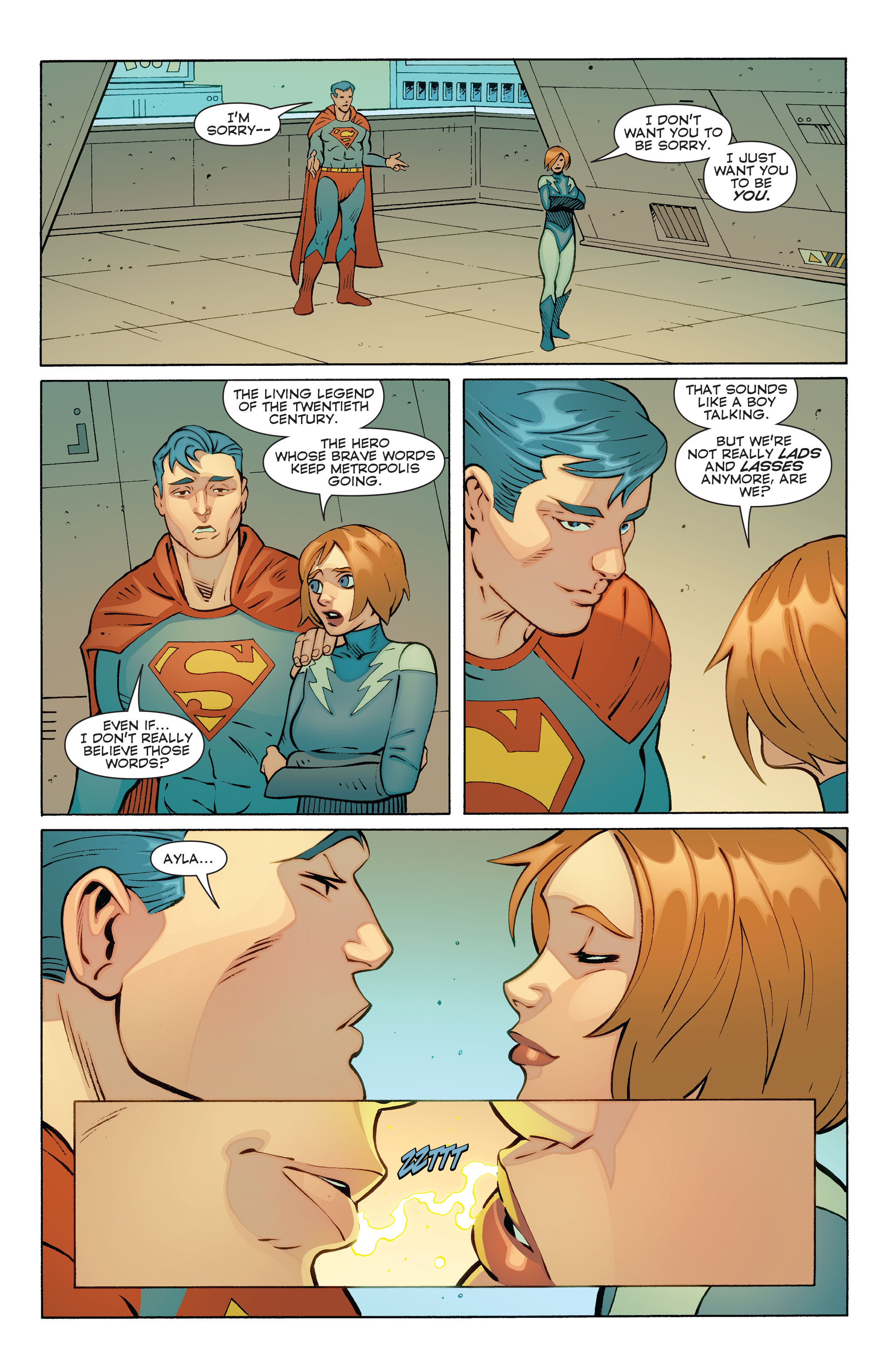 Read online Convergence Superboy and the Legion of Super-Heroes comic -  Issue #1 - 15