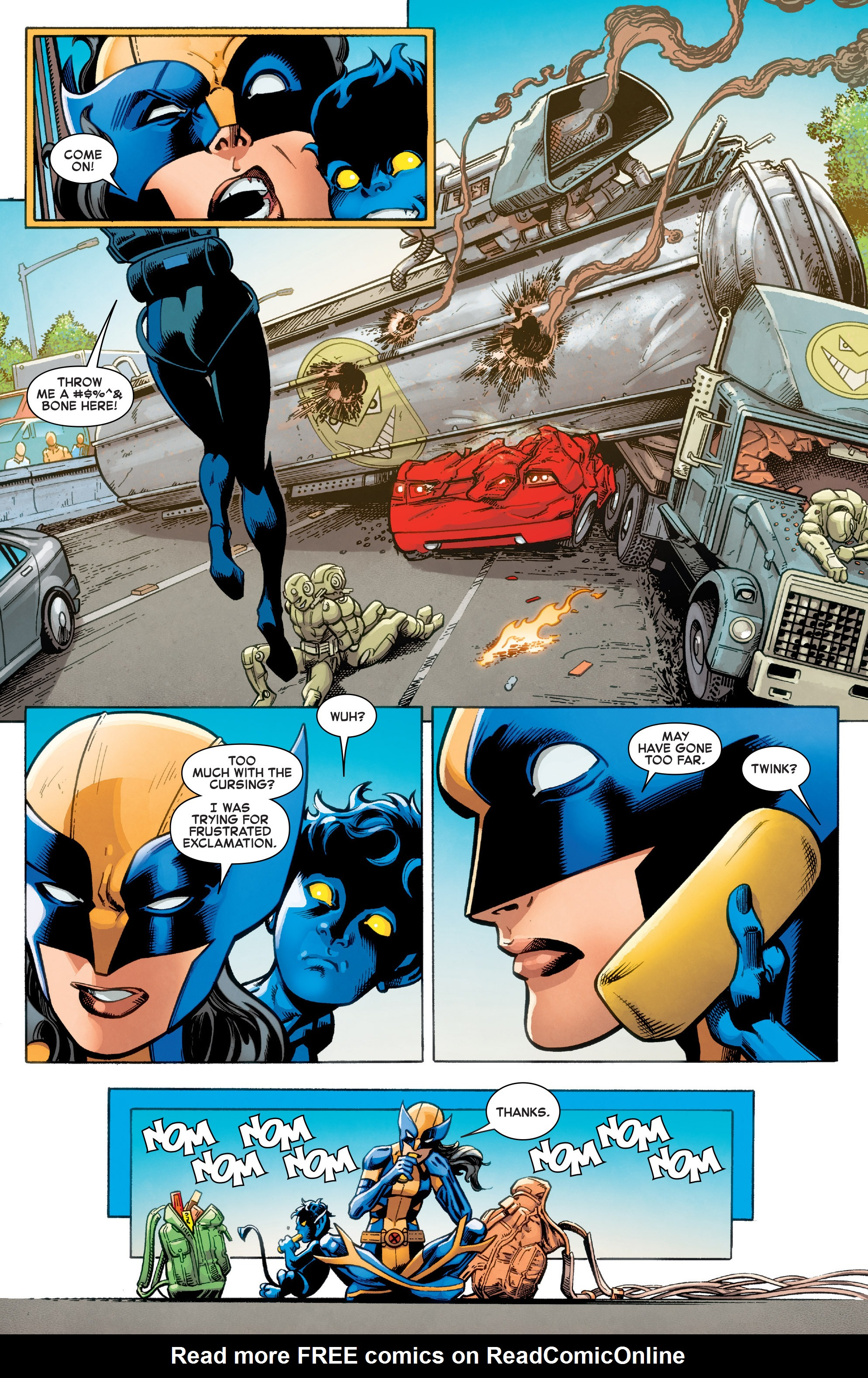 Read online All-New X-Men (2016) comic -  Issue #12 - 11