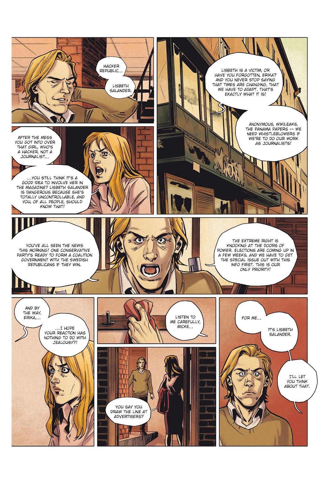 Read online Millennium: The Girl Who Danced With Death comic -  Issue #1 - 48
