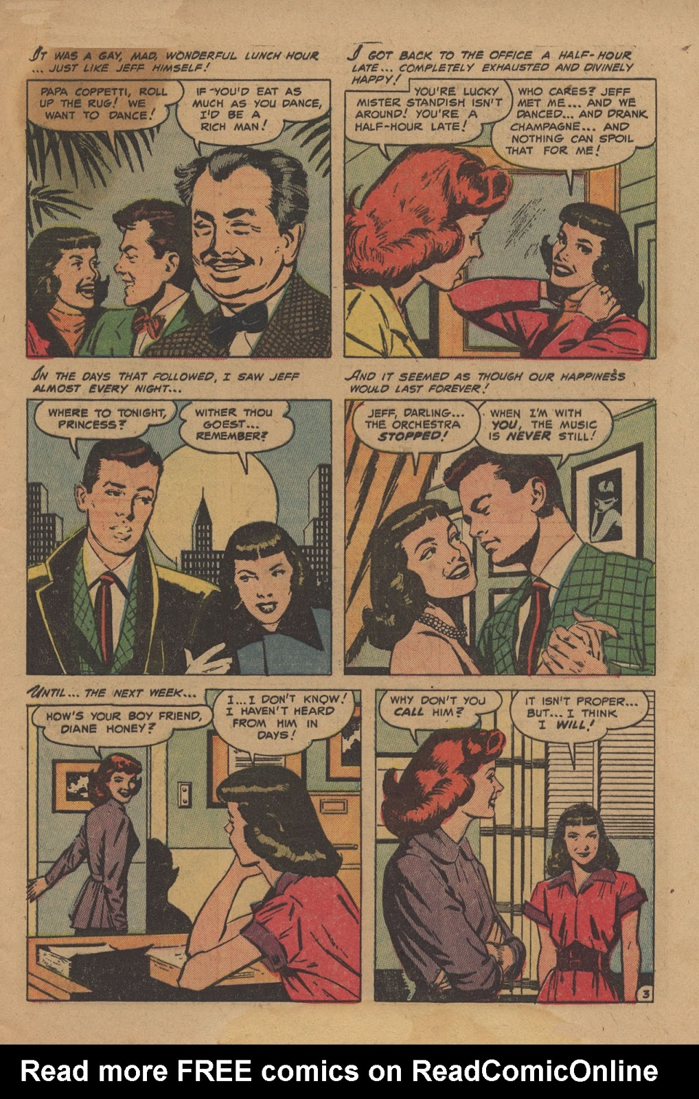 Love Romances (1949) issue 28 - Page 5