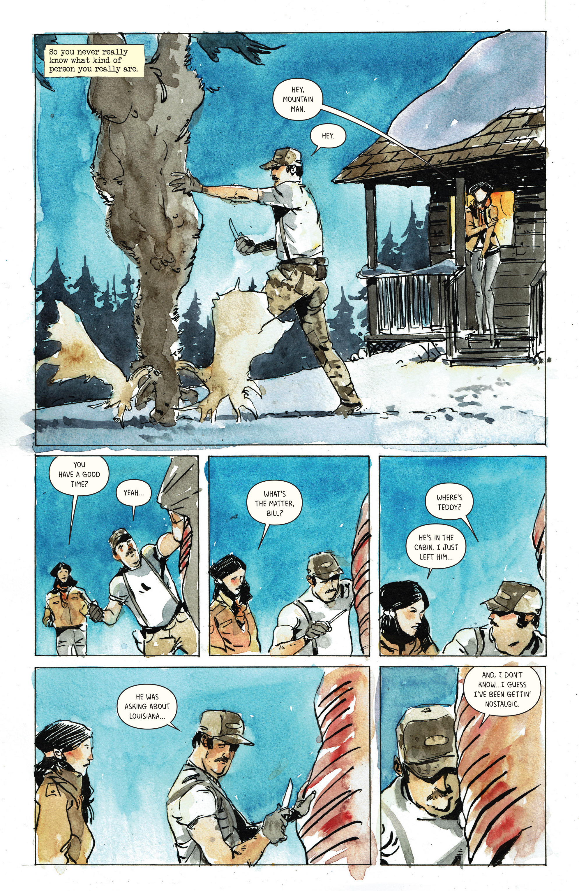 Read online Snow Blind comic -  Issue #3 - 20