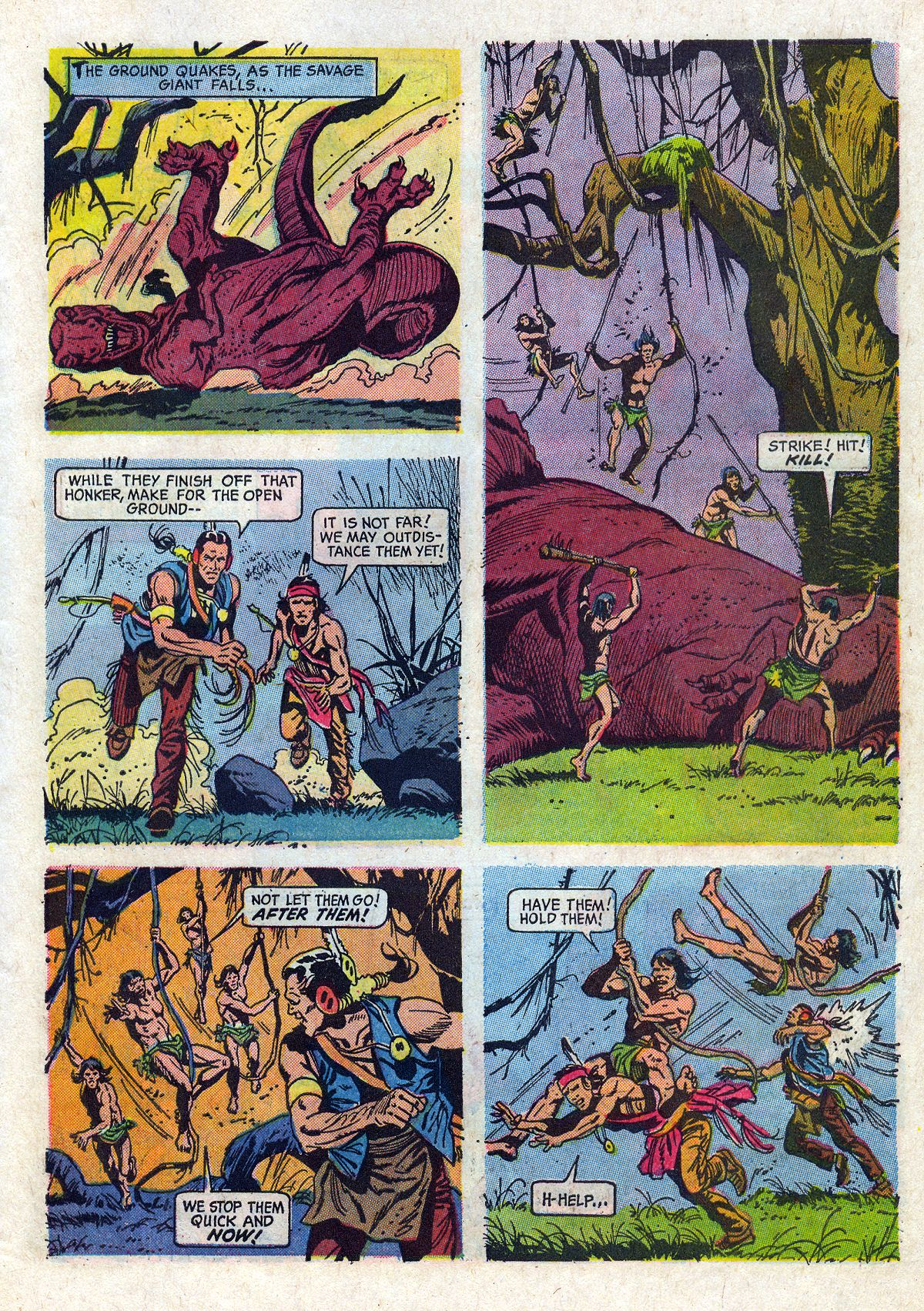 Read online Turok, Son of Stone comic -  Issue #61 - 27