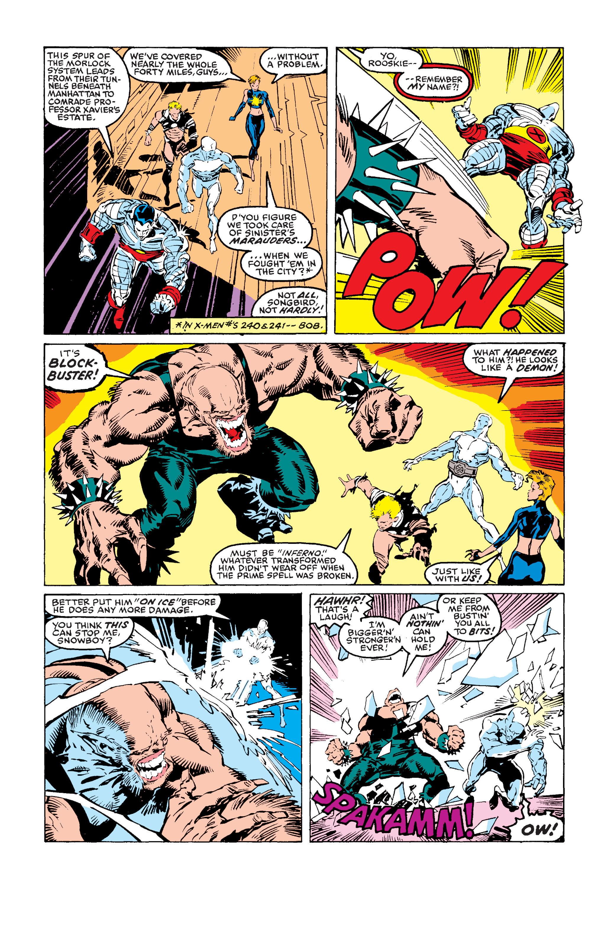 Read online Uncanny X-Men (1963) comic -  Issue #243 - 17
