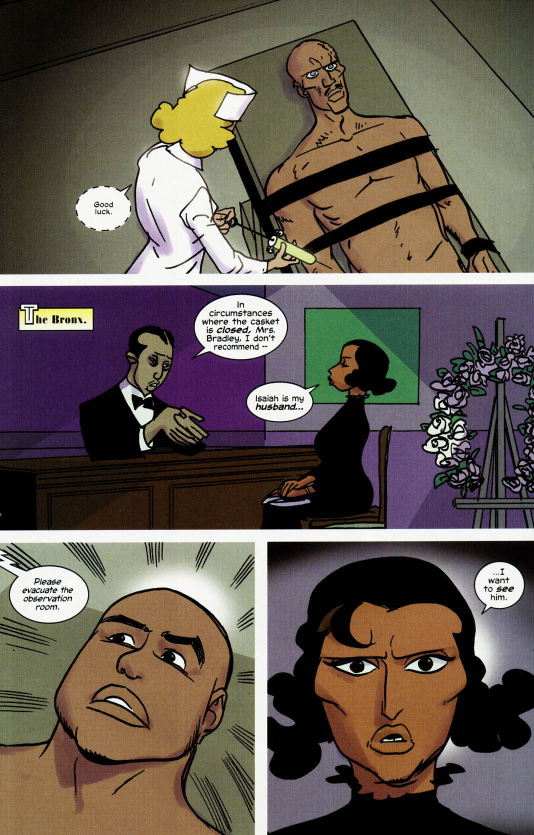 Read online Truth: Red, White & Black comic -  Issue #3 - 13