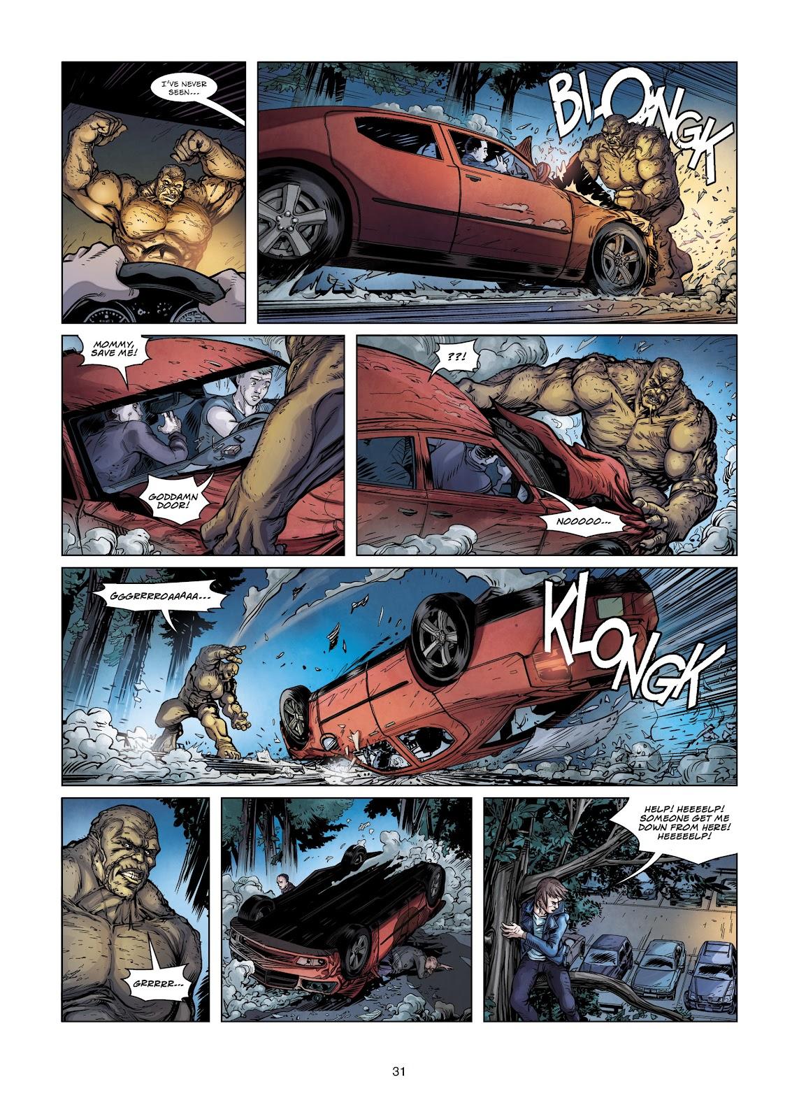 Read online Vigilantes comic -  Issue #2 - 31