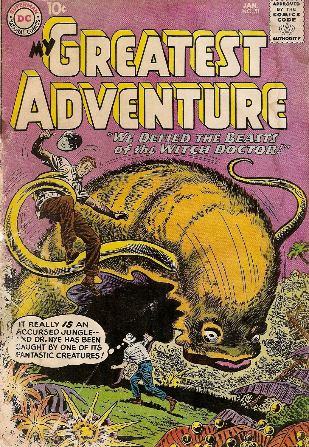 My Greatest Adventure (1955) issue 51 - Page 1
