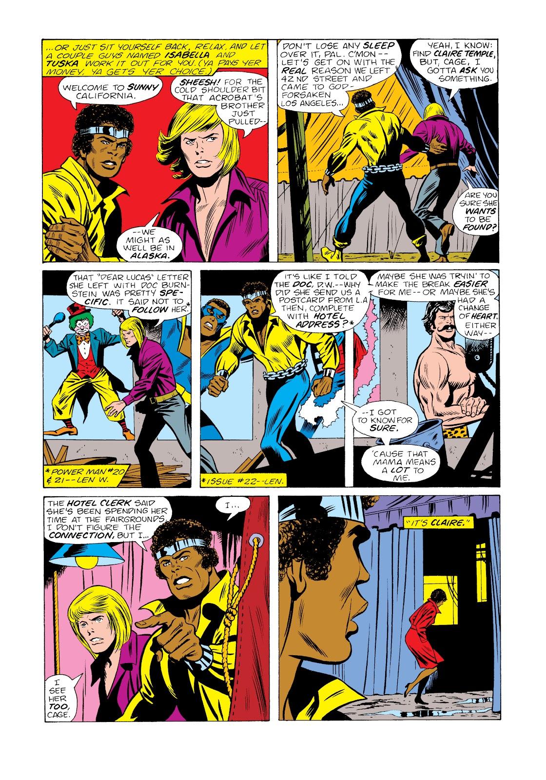 Read online Marvel Masterworks: Luke Cage, Power Man comic -  Issue # TPB 2 (Part 2) - 49