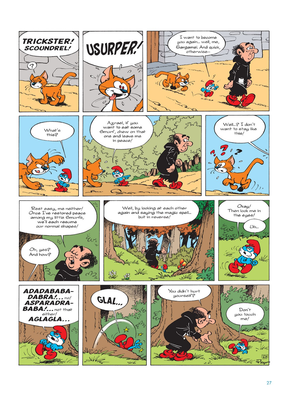 Read online The Smurfs comic -  Issue #12 - 27