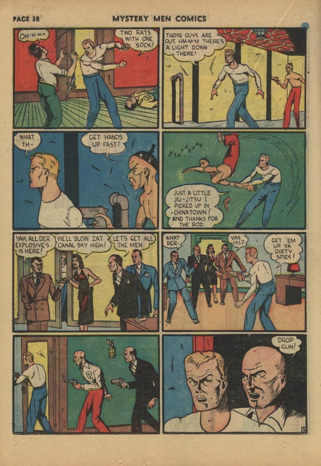 Mystery Men Comics issue 17 - Page 40