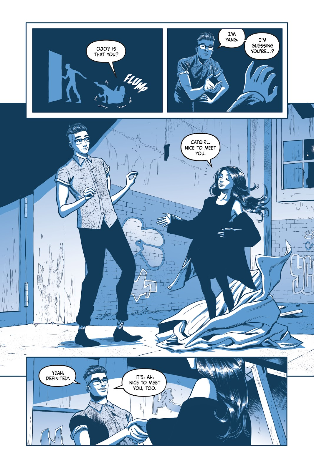 Read online Under the Moon: A Catwoman Tale comic -  Issue # TPB (Part 2) - 9