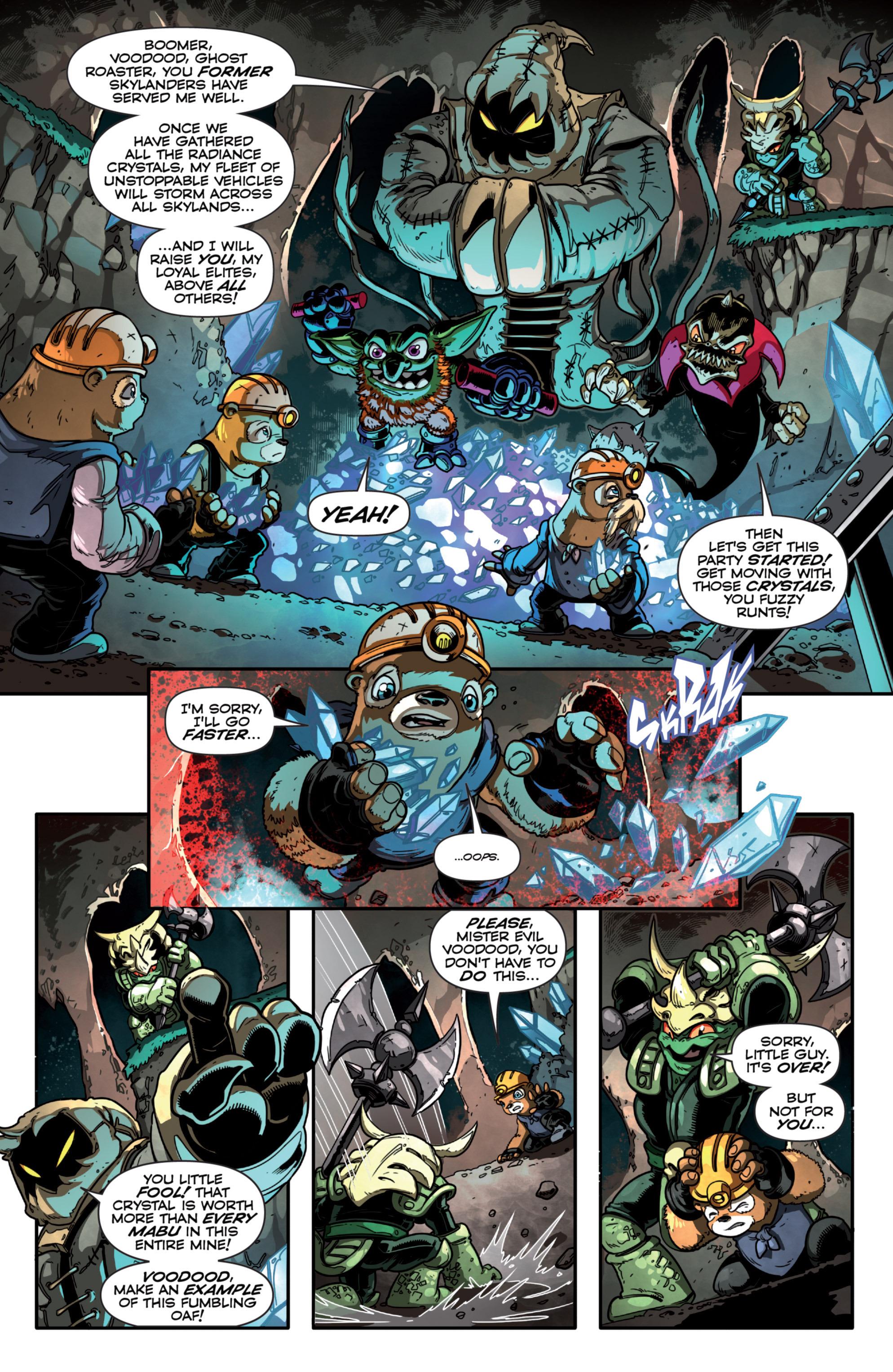 Read online Skylanders Superchargers comic -  Issue #3 - 7