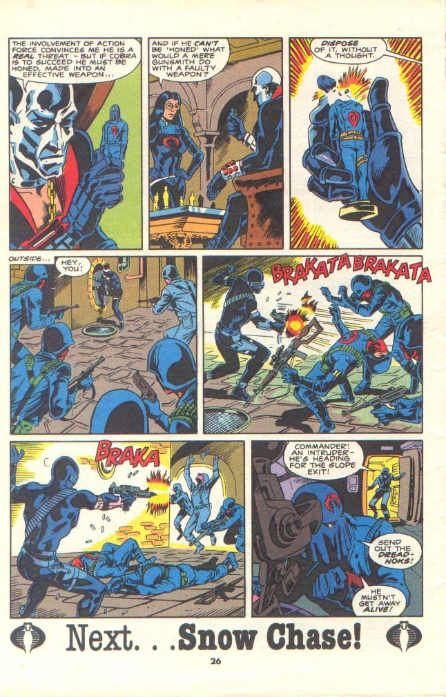 G.I. Joe European Missions issue 11 - Page 23