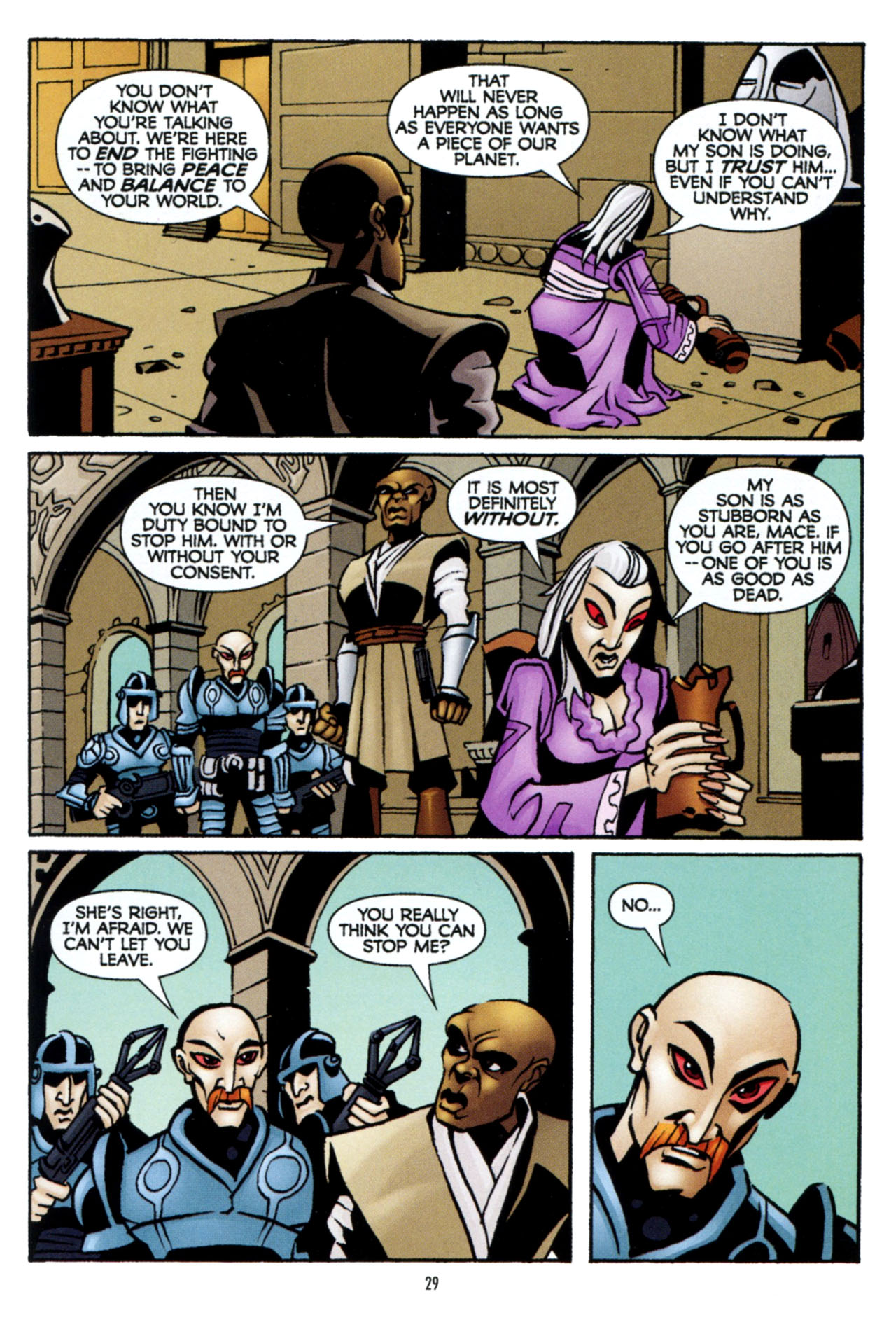 Read online Star Wars: The Clone Wars - The Colossus of Destiny comic -  Issue # Full - 30