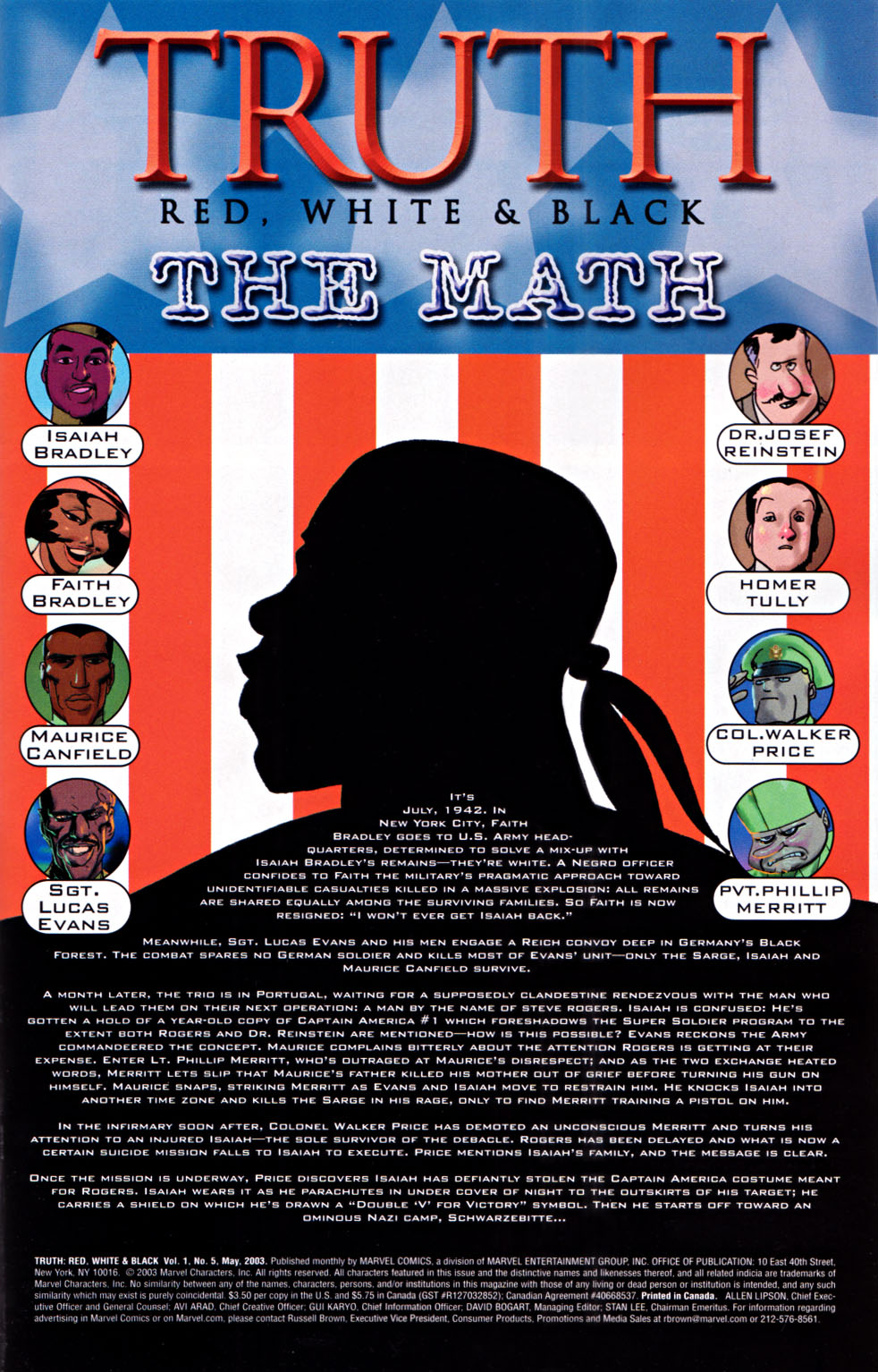 Read online Truth: Red, White & Black comic -  Issue #5 - 2