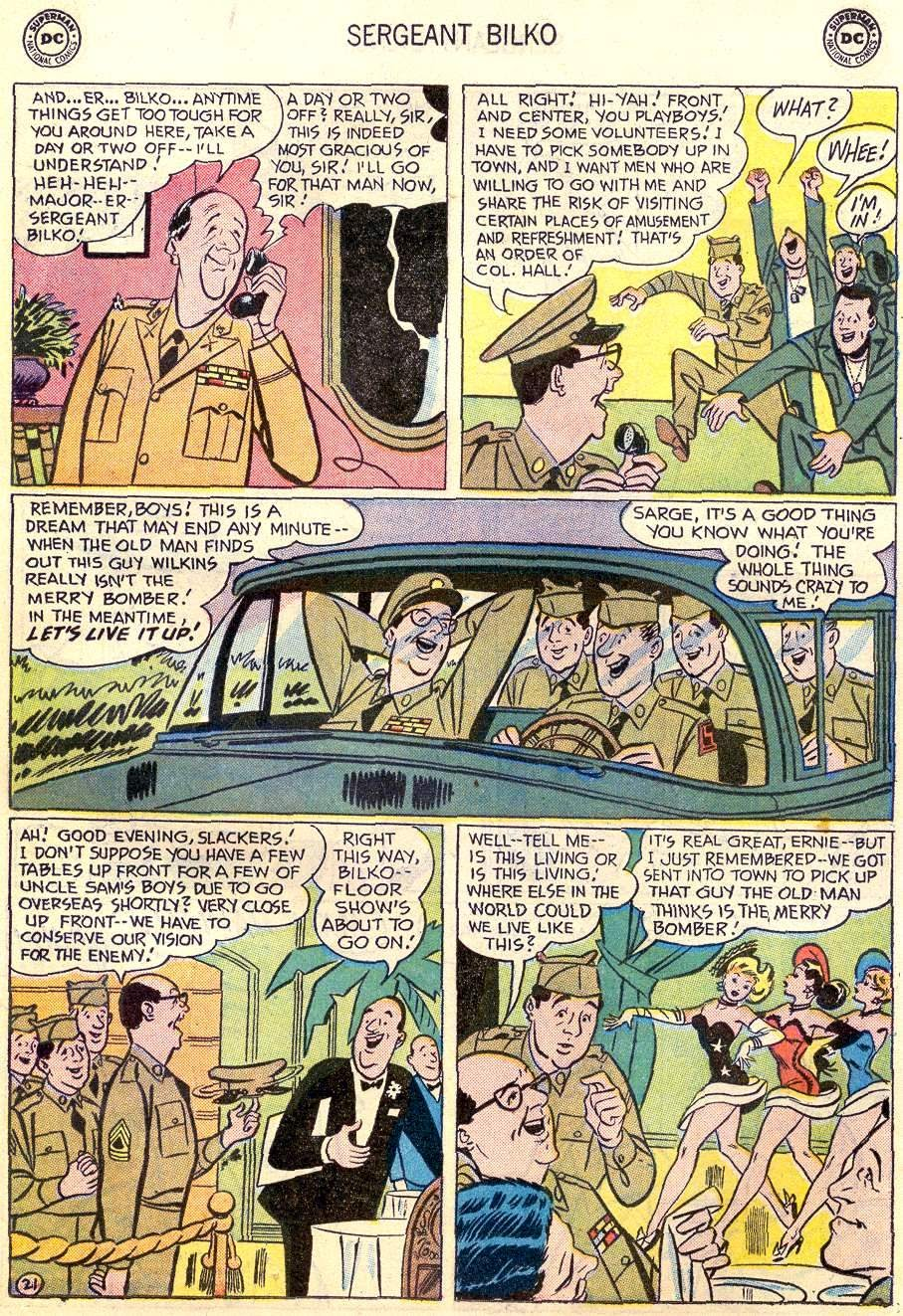 Sergeant Bilko issue 2 - Page 23