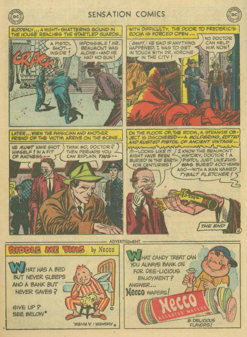 Read online Sensation (Mystery) Comics comic -  Issue #107 - 20
