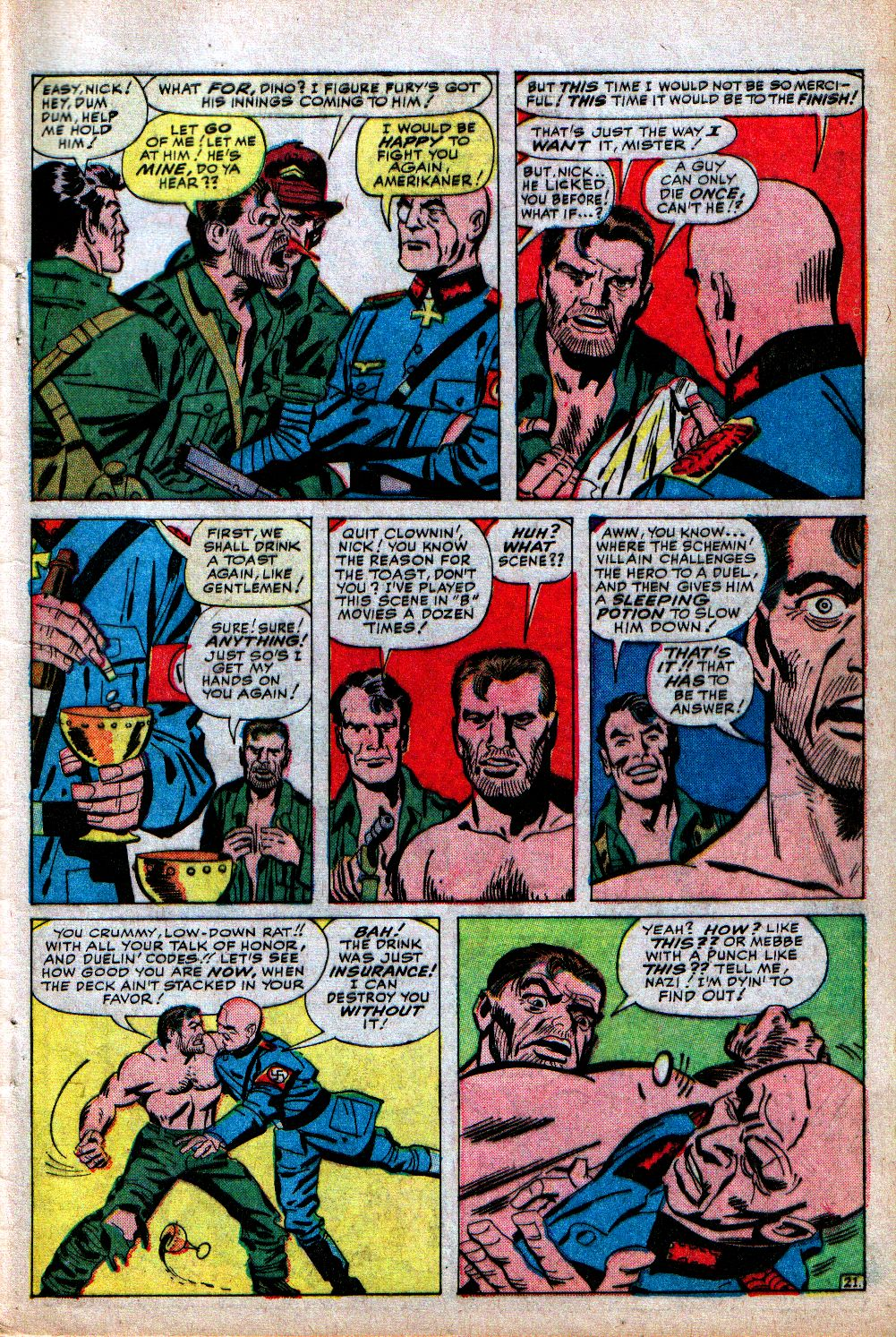 Read online Sgt. Fury comic -  Issue #5 - 29