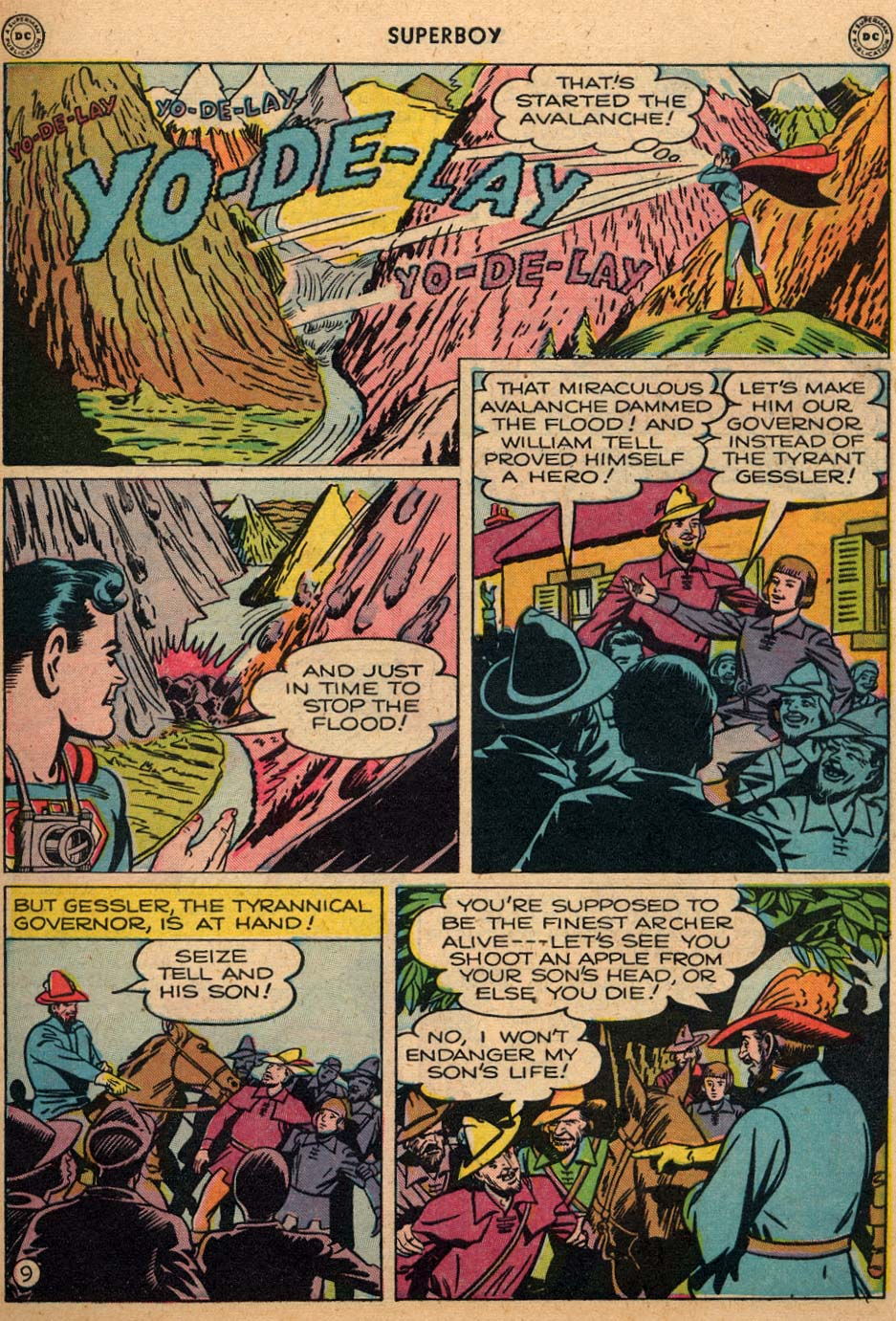 Superboy (1949) issue 3 - Page 10