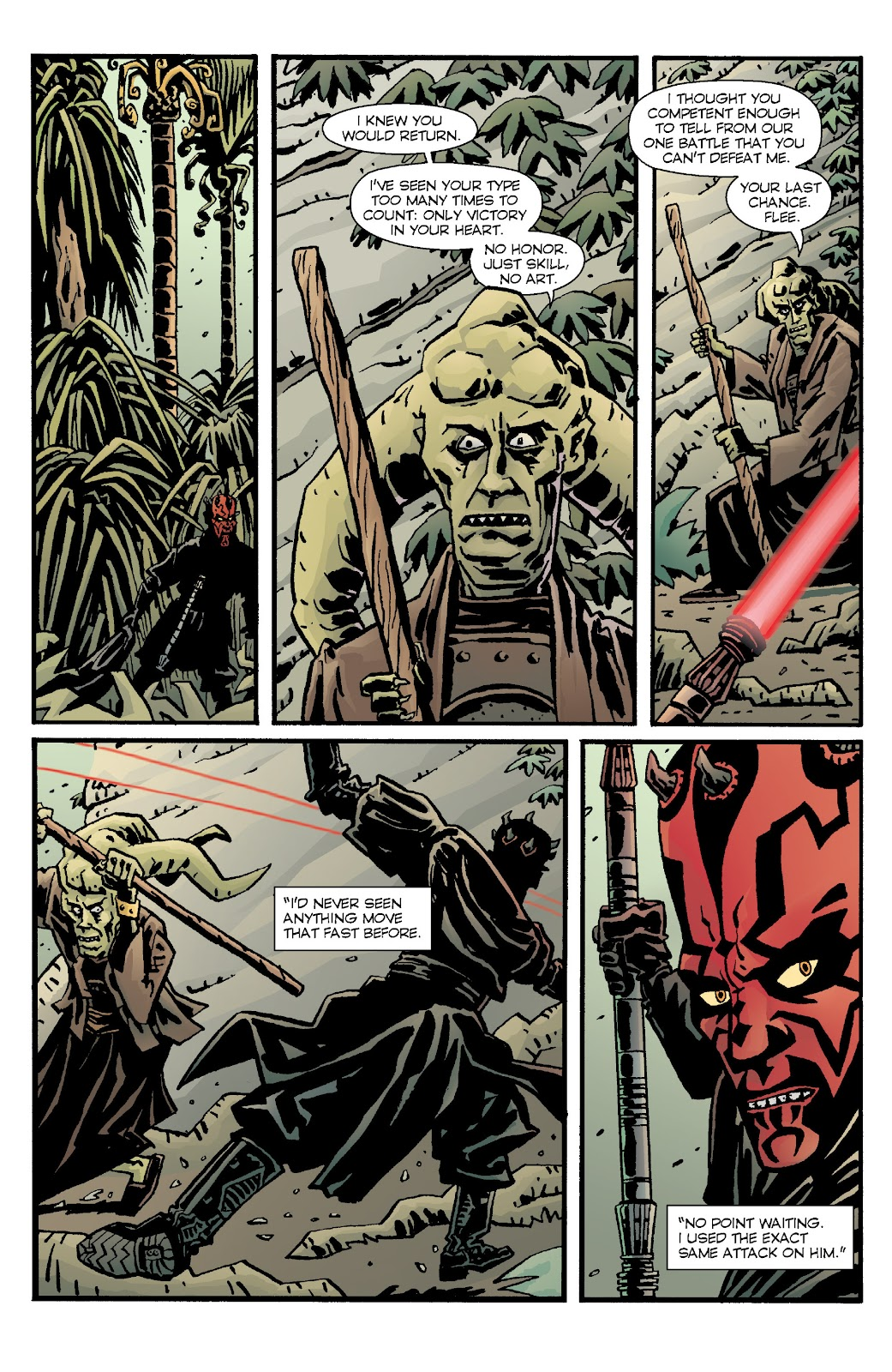 Read online Star Wars Legends: Rise of the Sith - Epic Collection comic -  Issue # TPB 1 (Part 4) - 51