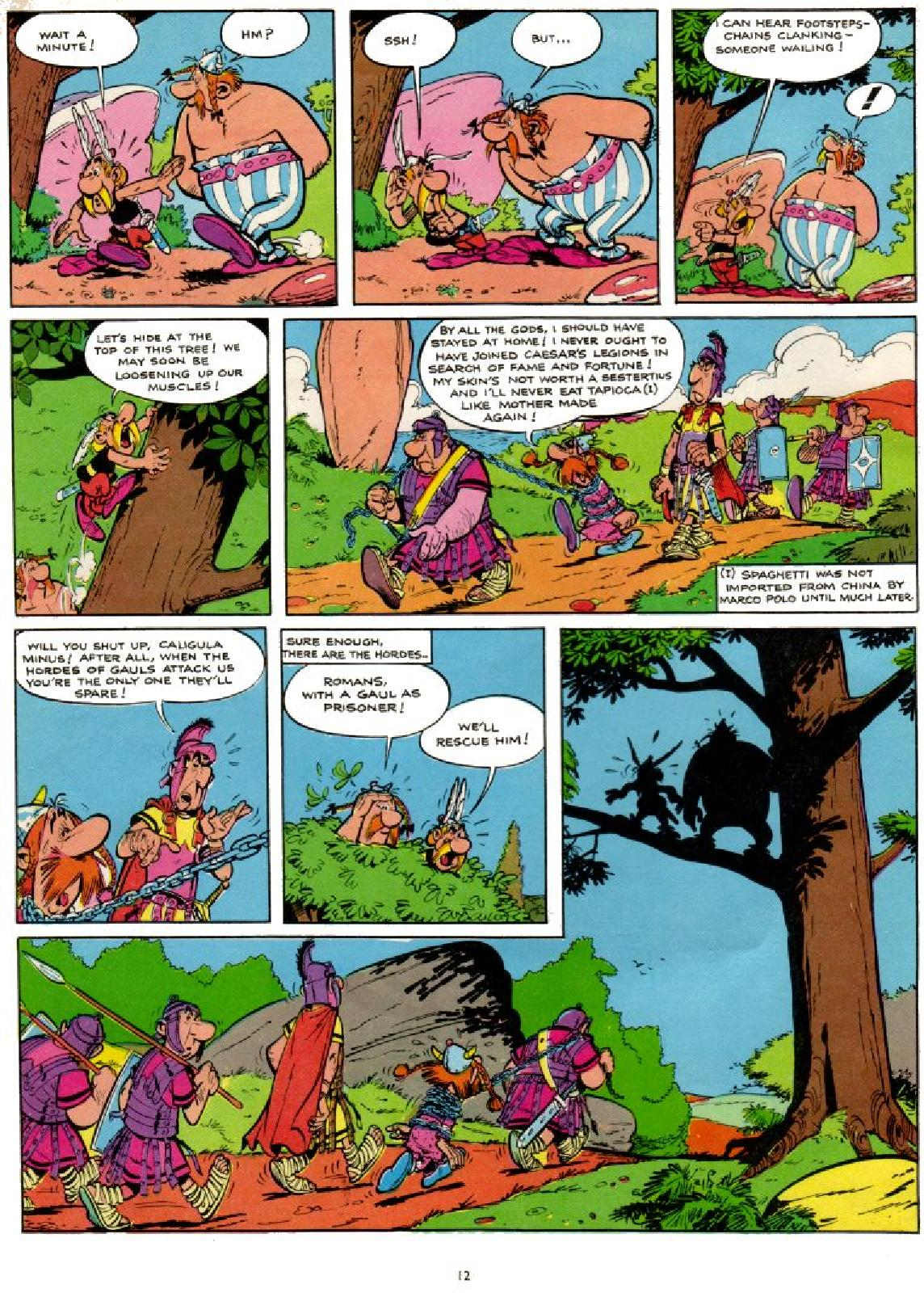 Read online Asterix comic -  Issue #1 - 12
