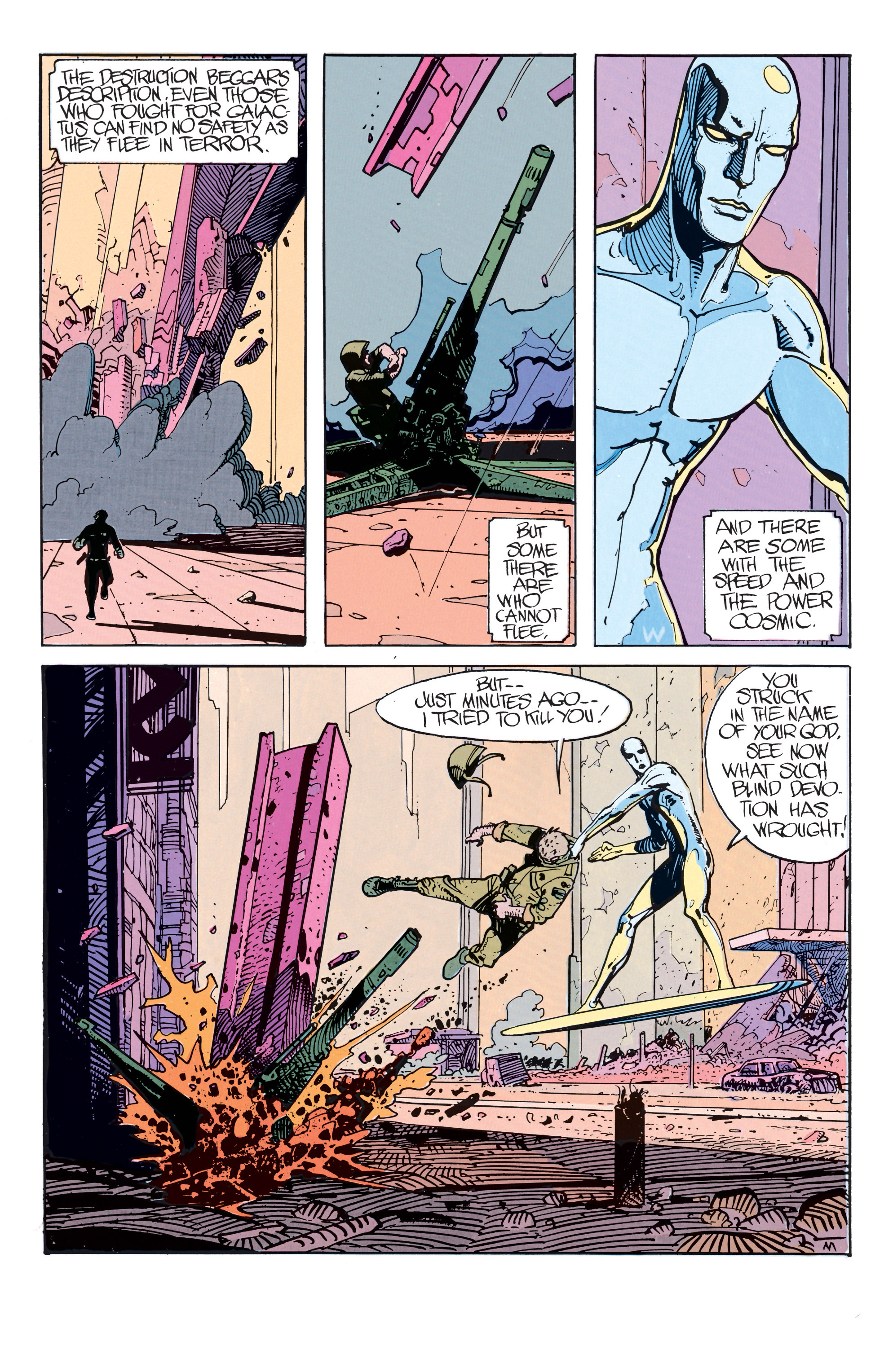 Read online Silver Surfer: Parable comic -  Issue # TPB - 29