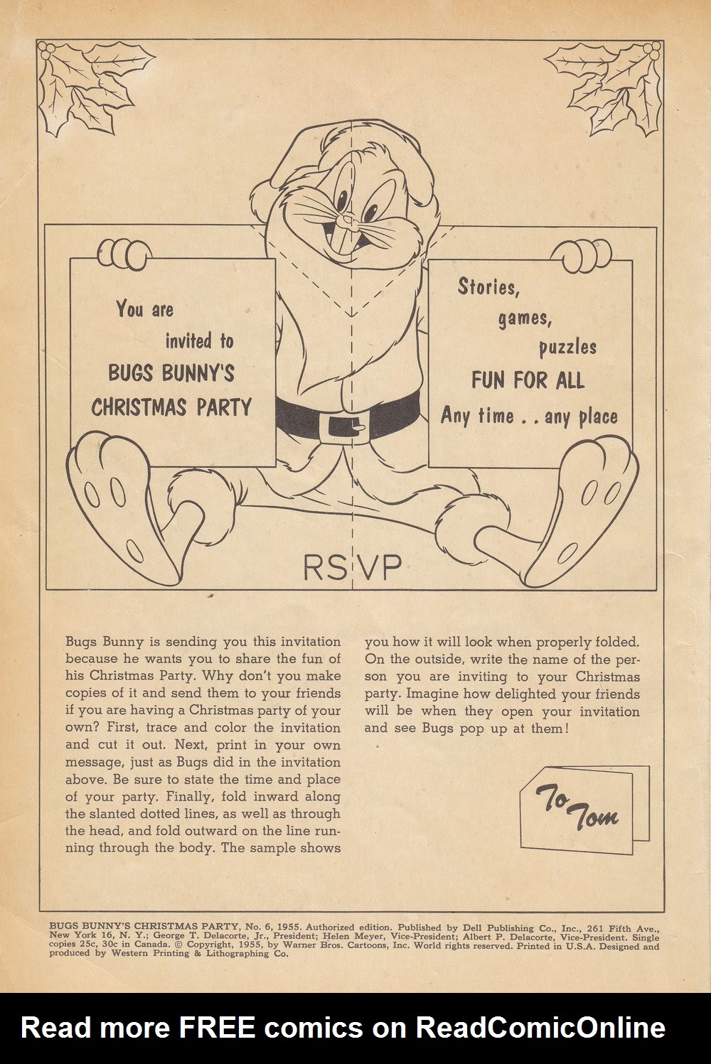 Bugs Bunnys Christmas Funnies TPB_6 Page 2