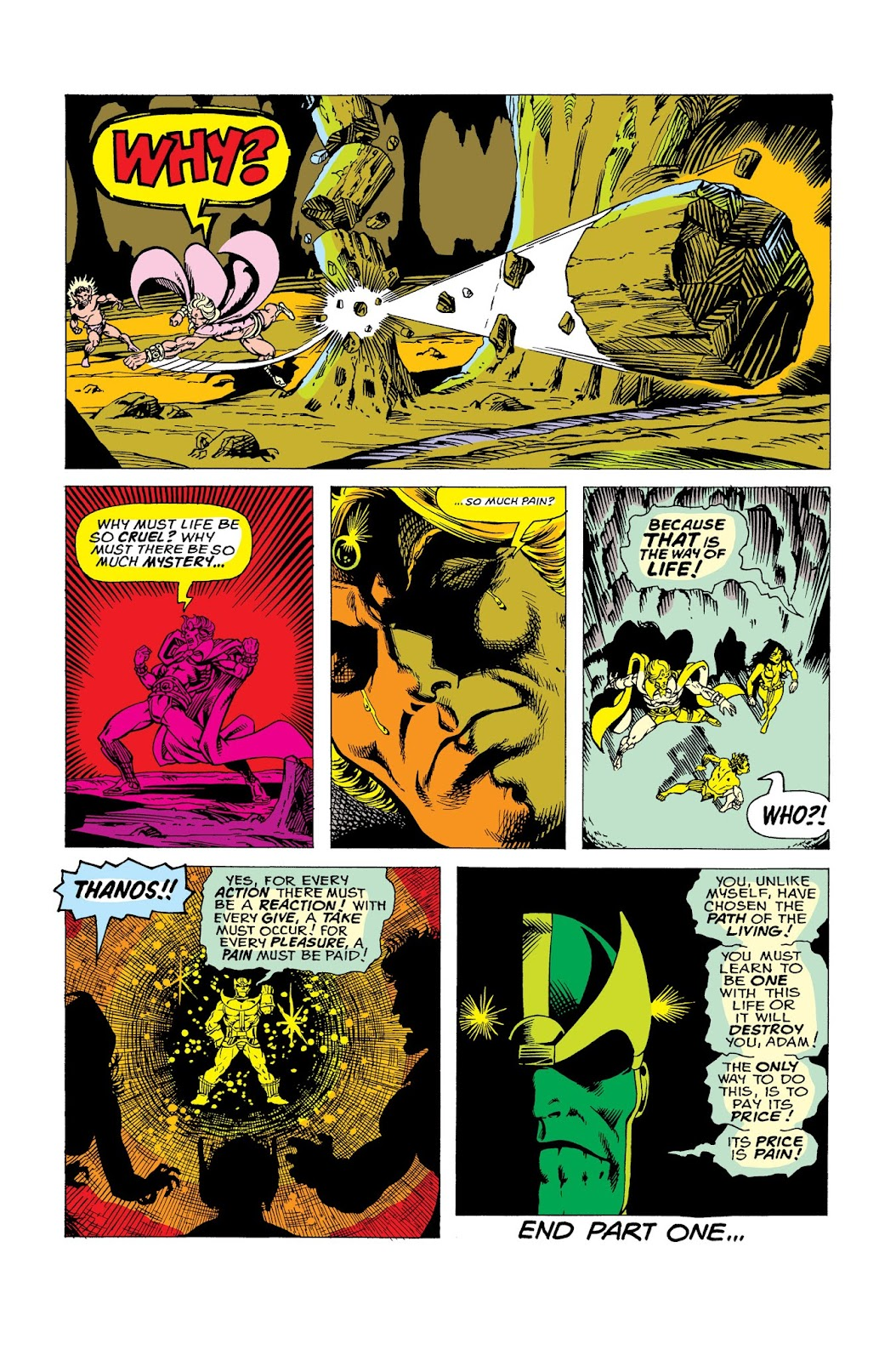 Warlock by Jim Starlin issue 2 - Page 1