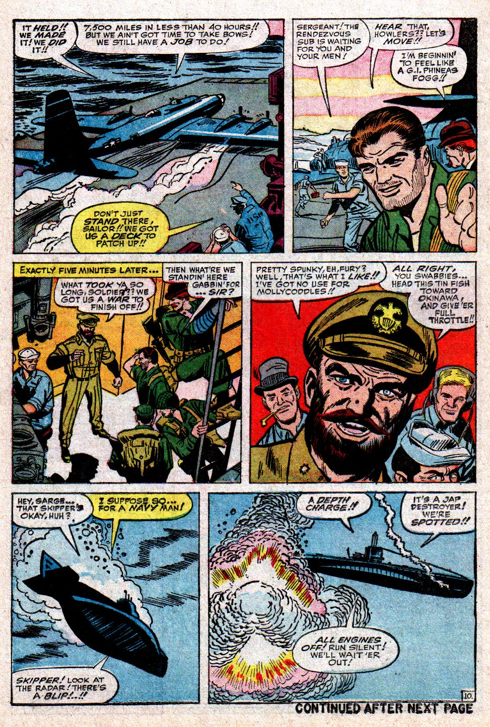 Read online Sgt. Fury comic -  Issue #10 - 14
