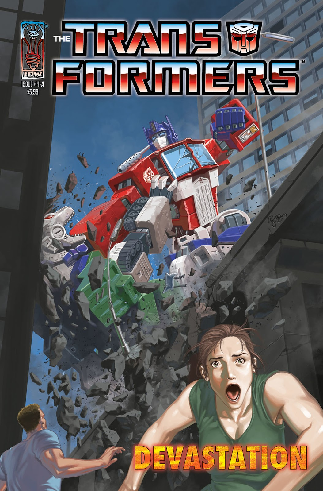 The Transformers: Devastation issue 4 - Page 1