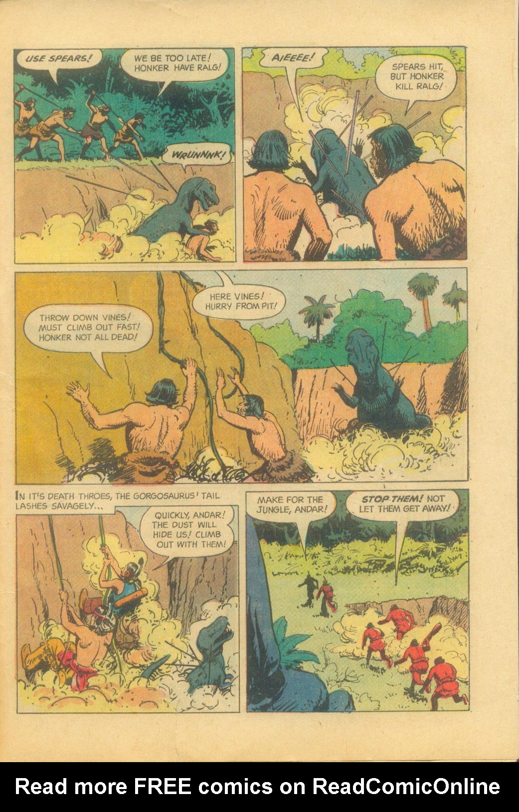 Read online Turok, Son of Stone comic -  Issue #29 - 33