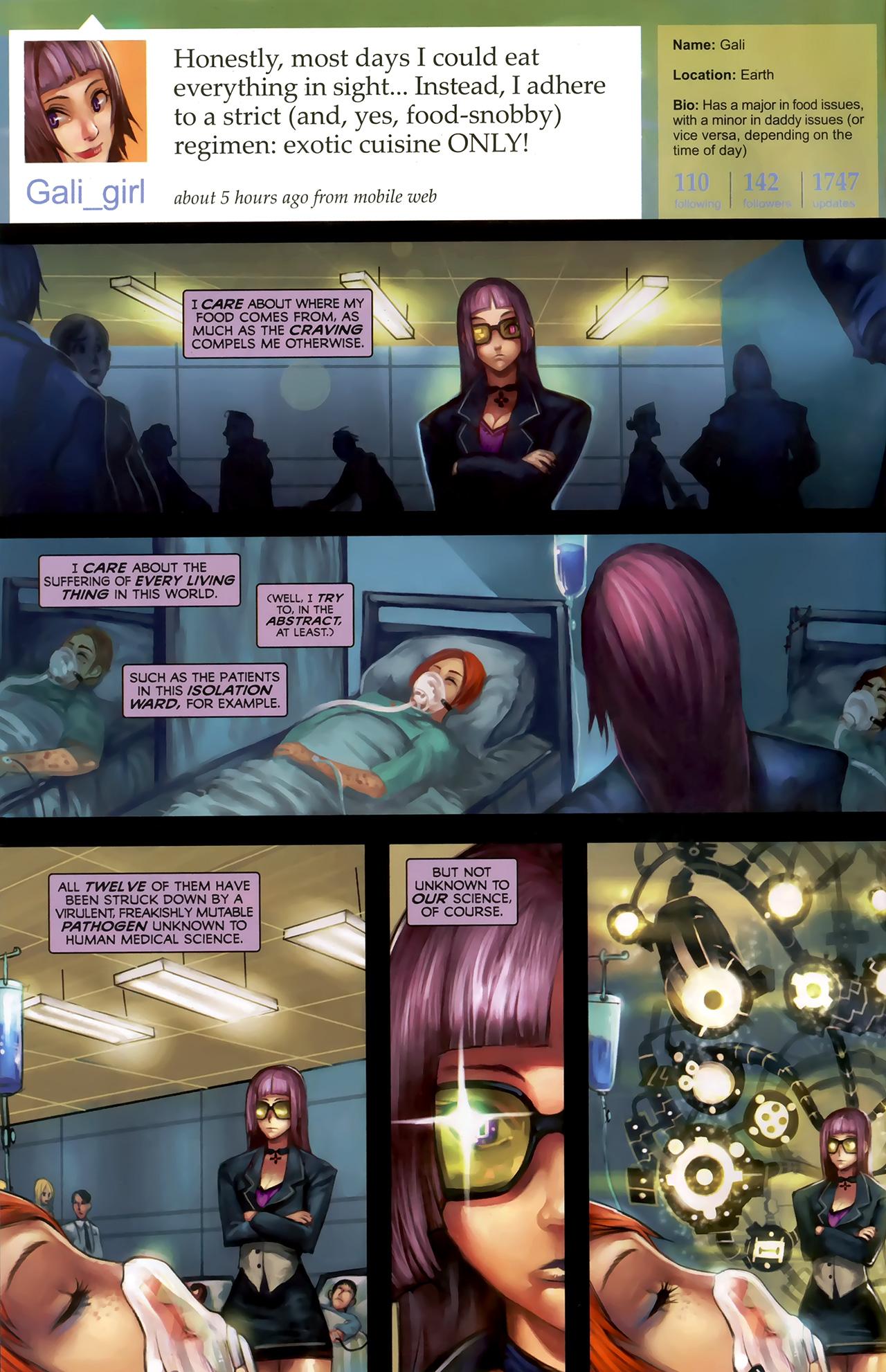 Read online Galacta: Daughter of Galactus comic -  Issue # Full - 3