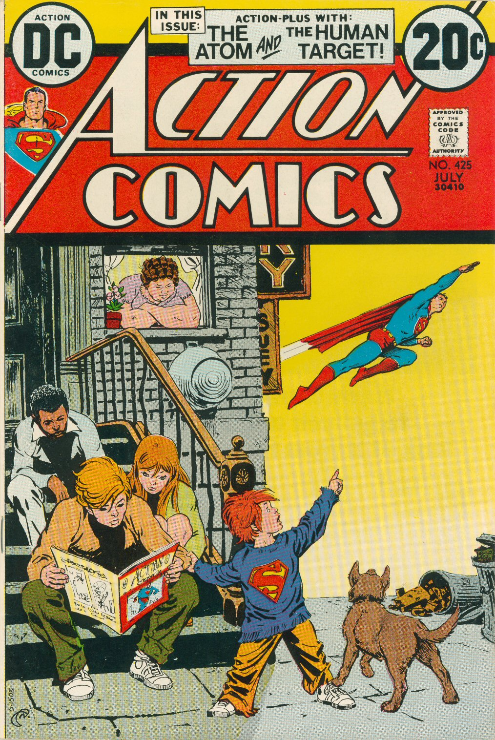 Read online Action Comics (1938) comic -  Issue #425 - 1