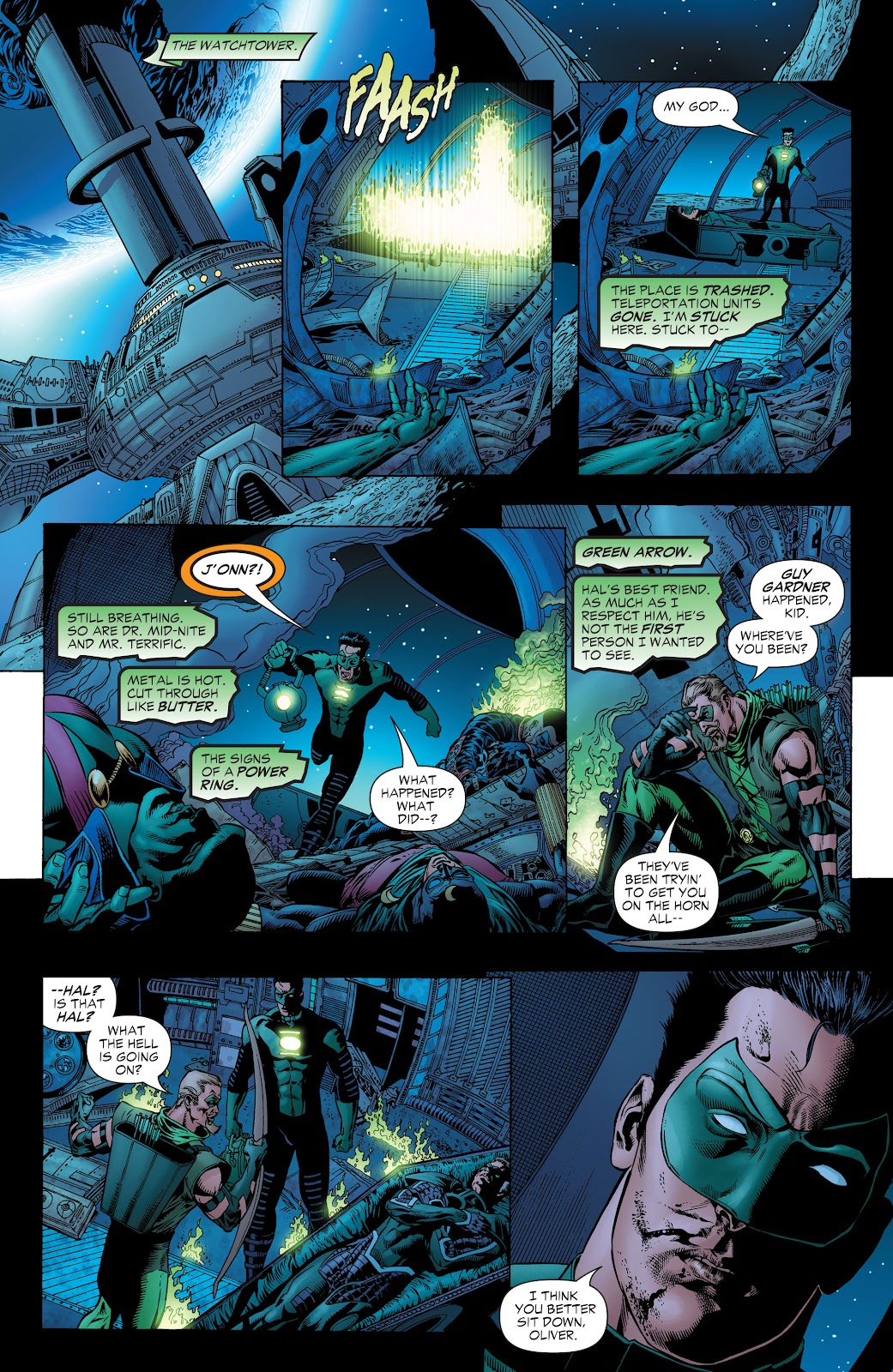 Read online Green Lantern by Geoff Johns comic -  Issue # TPB 1 (Part 1) - 76