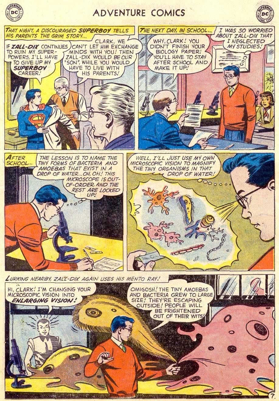 Read online Adventure Comics (1938) comic -  Issue #264 - 9