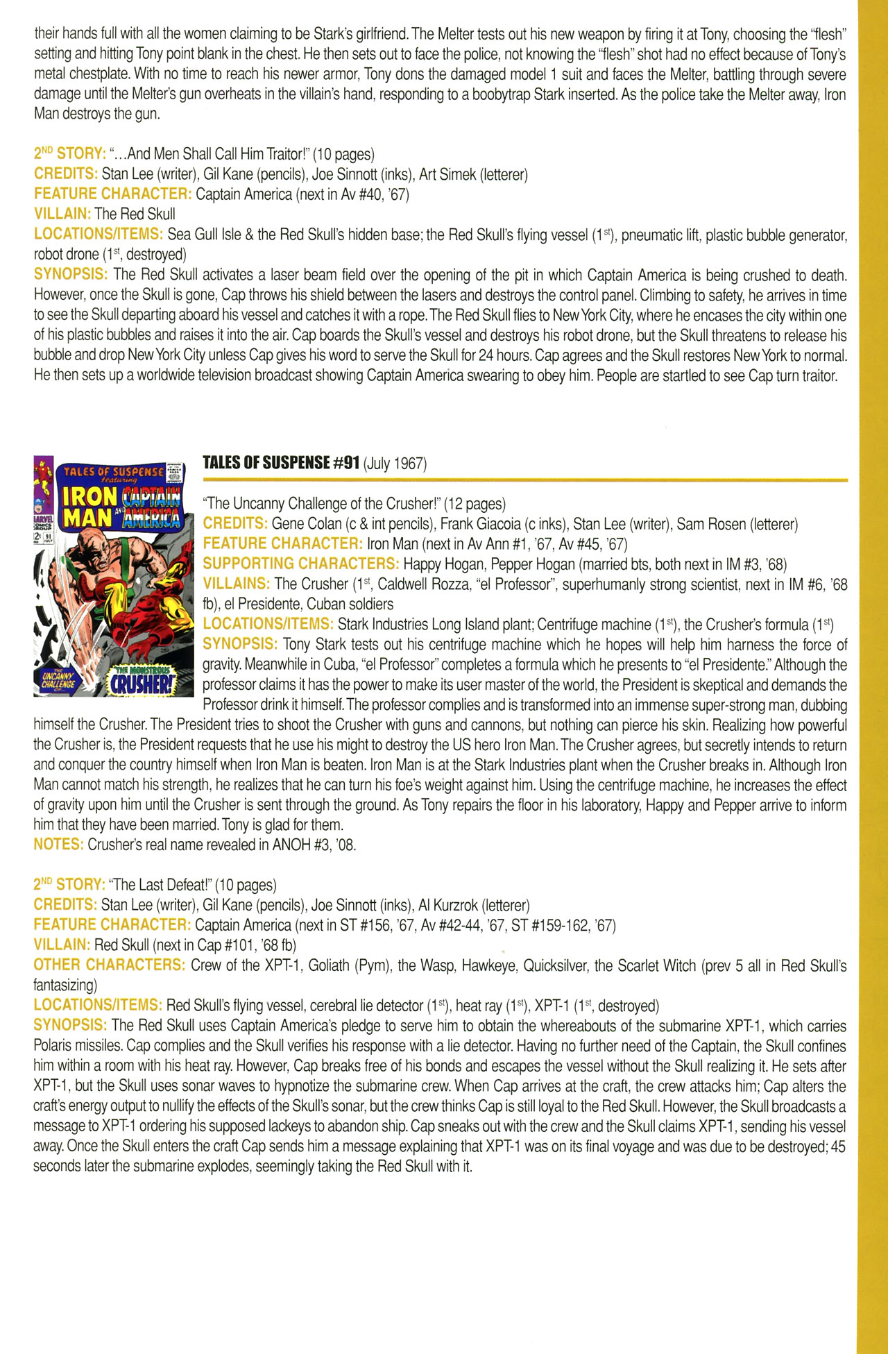 Read online Official Index to the Marvel Universe comic -  Issue #2 - 33