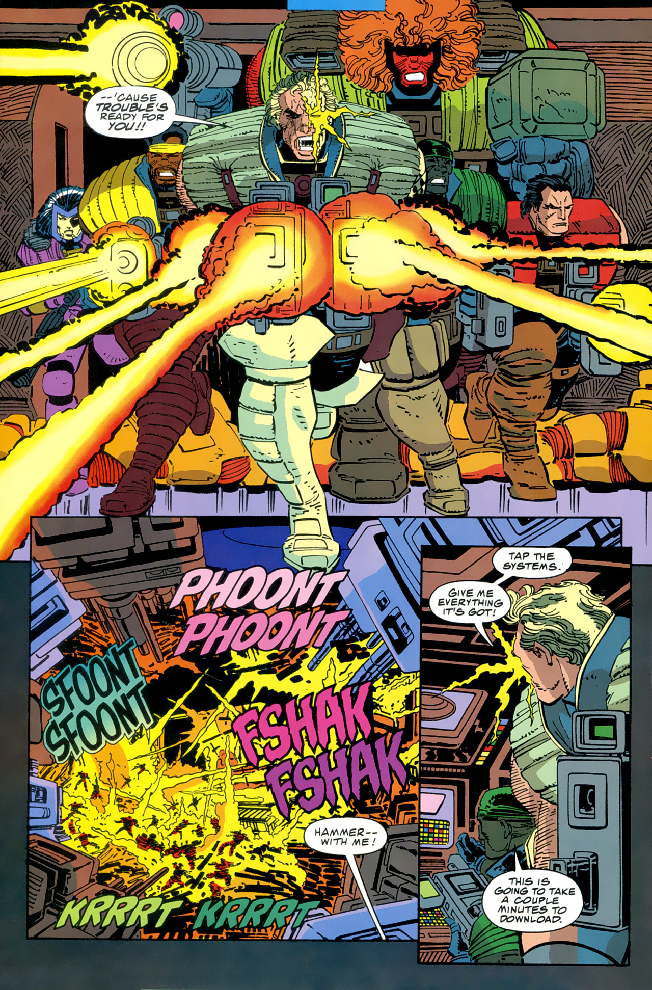Read online Cable - Blood and Metal comic -  Issue #2 - 32