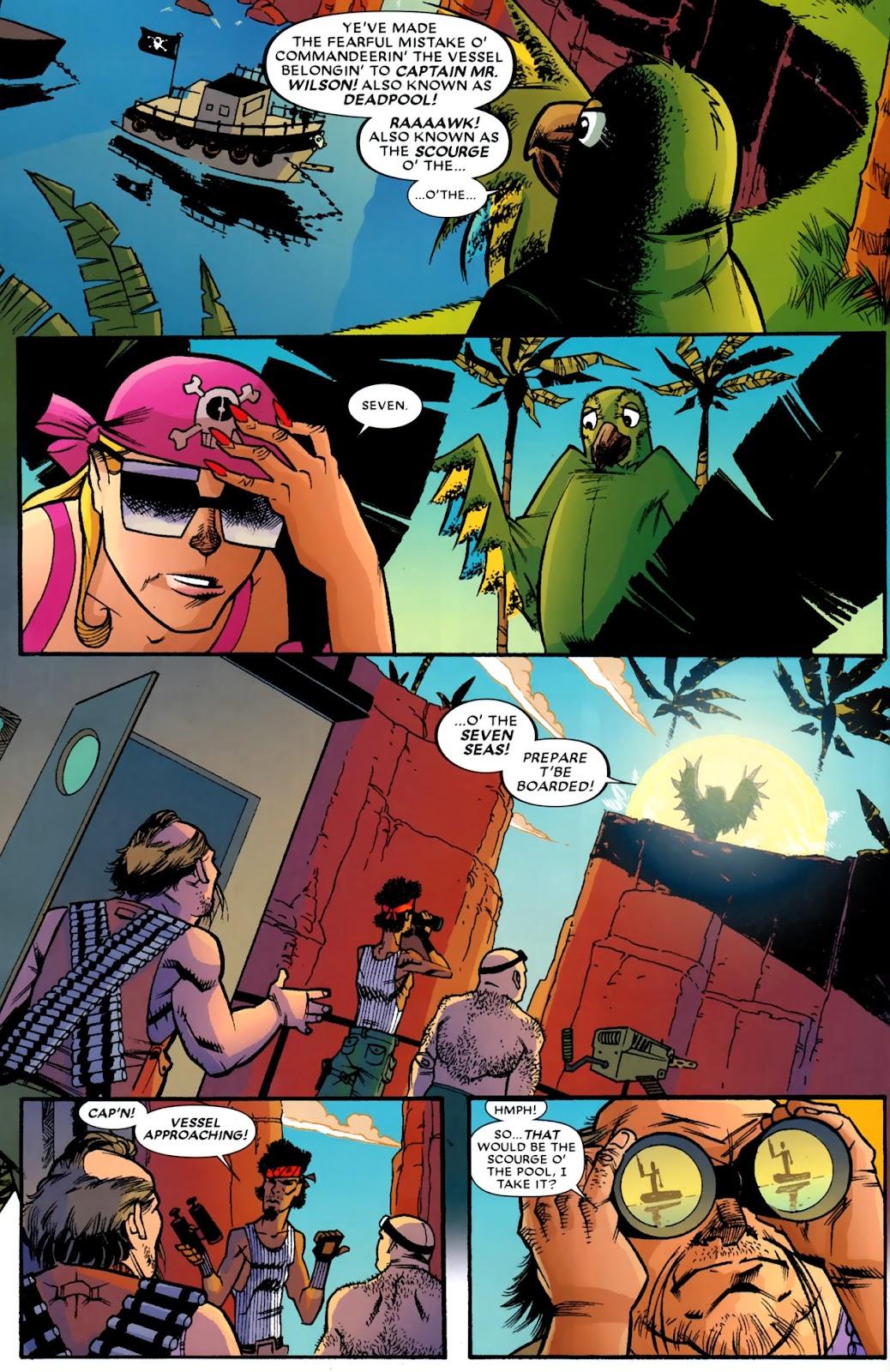 Read online Deadpool (2008) comic -  Issue #14 - 8